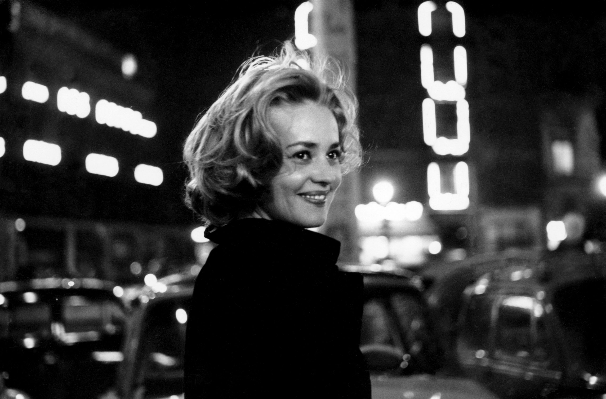 Jeanne Moreau in 'Lift to the Scaffold' directed by Louis Malle.