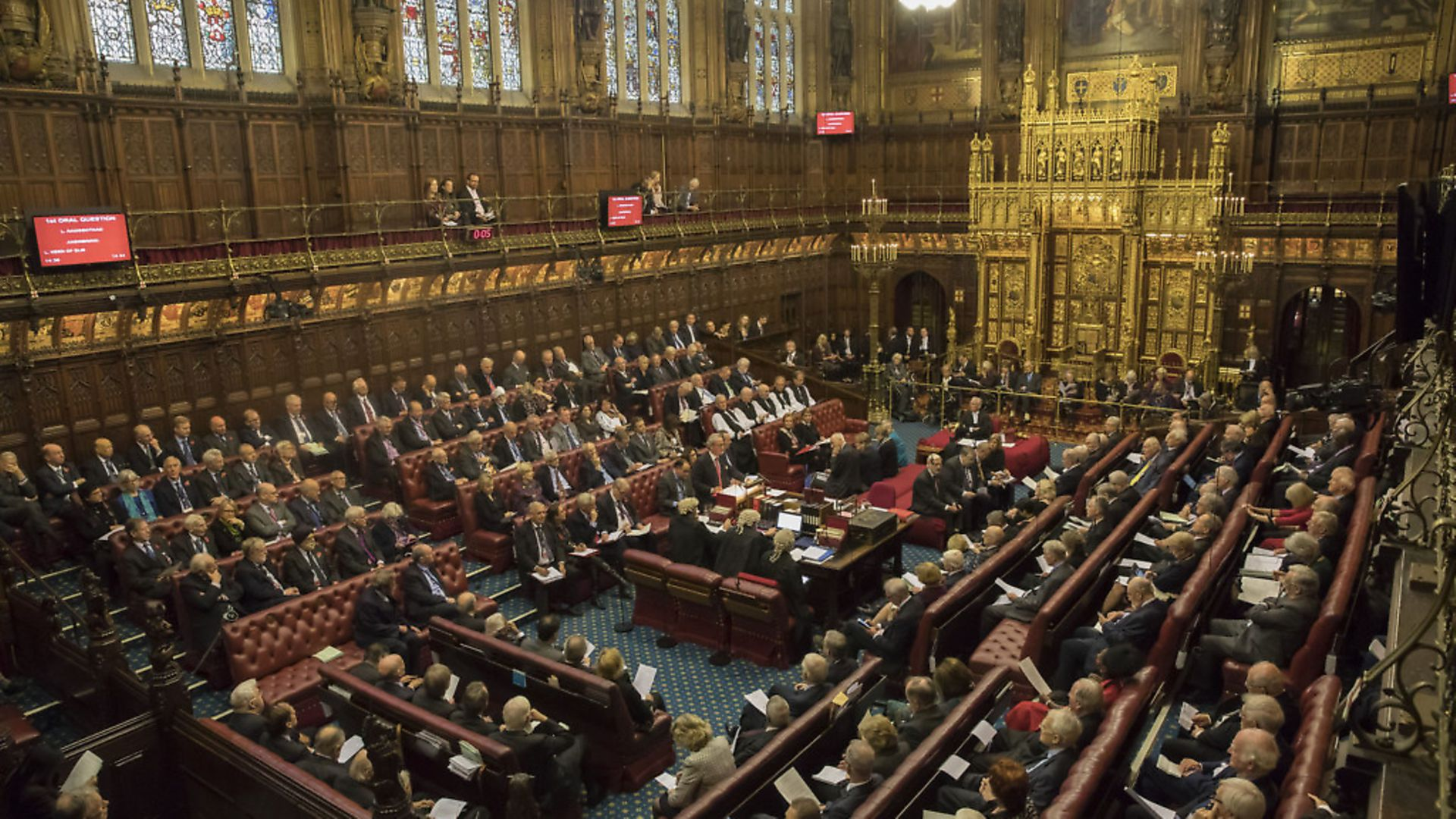 The House of Lords. Picture: Dan Kitwood. - Credit: PA Wire/PA Images