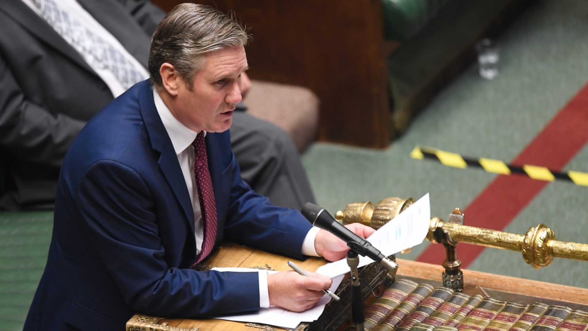 Keir Starmer in the House of Commons - Credit: Jessica Taylor/UK Parliament