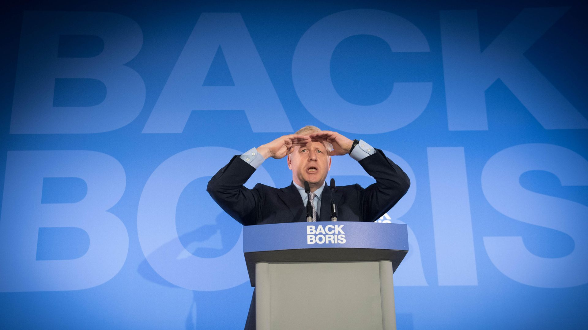 Boris Johnson during the launch of his campaign to become leader of the Conservative and Unionist Party - Credit: PA