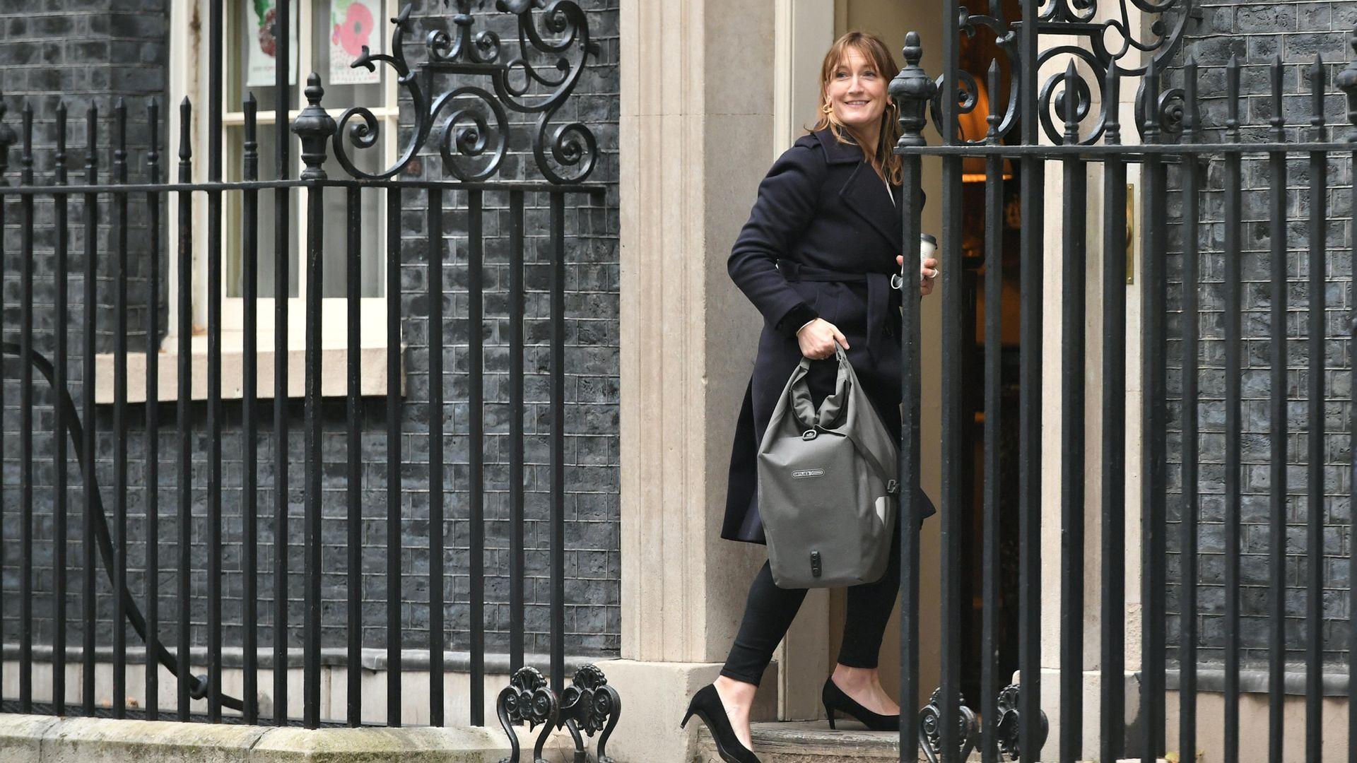 Allegra Stratton, Boris Johnson's former press secretary - Credit: PA