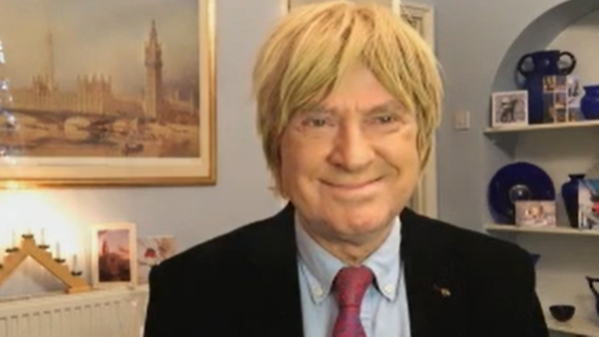 Michael Fabricant at PMQs - Credit: House of Commons