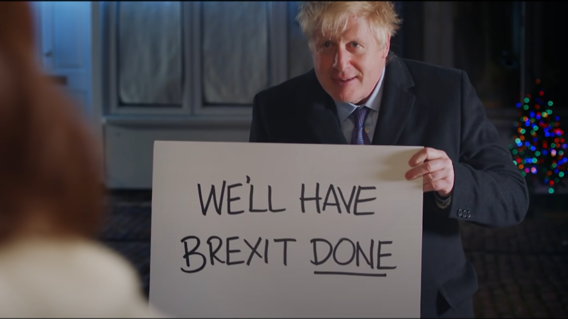 Boris Johnson featured in a Love Actually parody last Christmas - and could unintentionally become Christmas Number 1 this year. - Credit: YouTube
