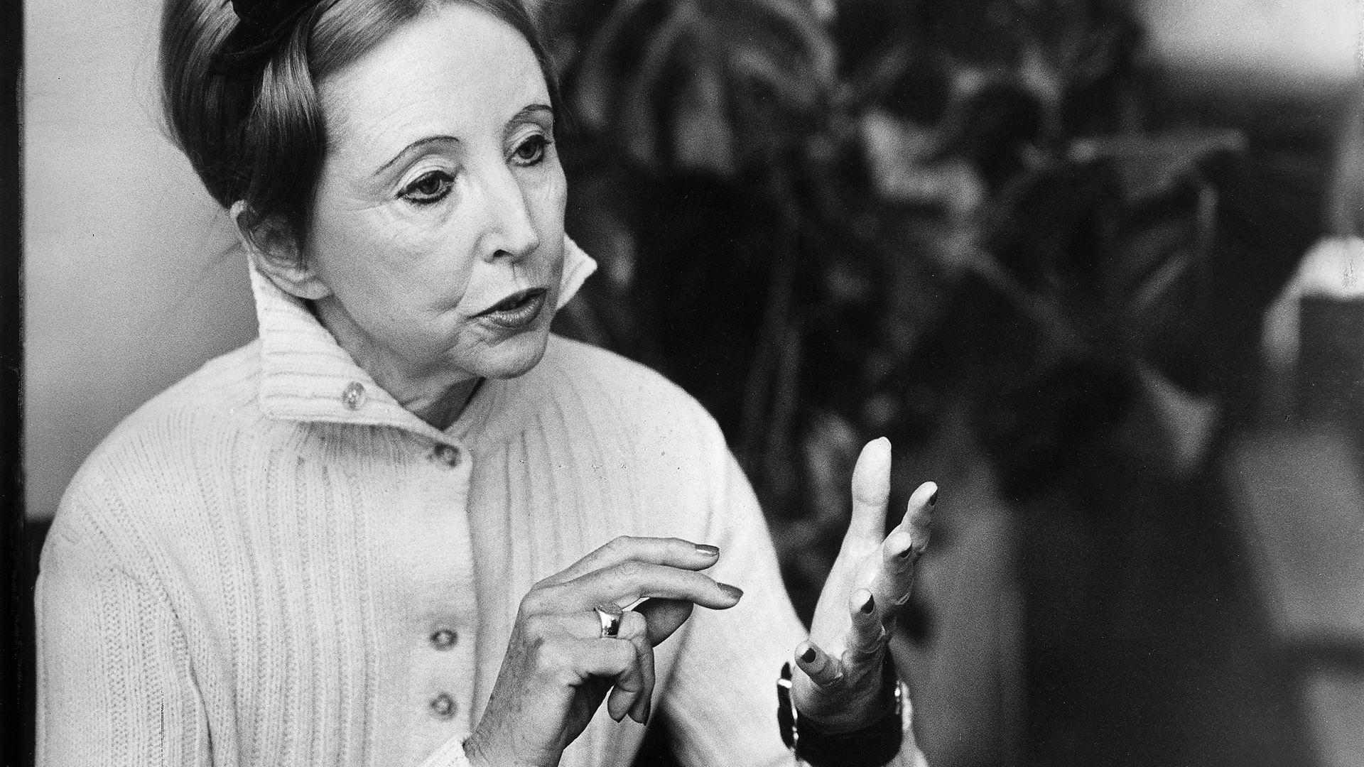 Anaïs Nin in 1969 - Credit: ullstein bild via Getty Images