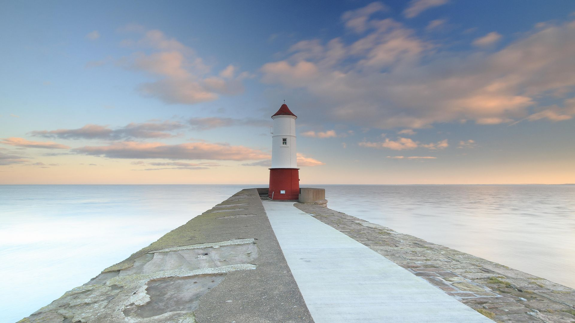 DISPUTED WATERS: Berwick lighthouse, from where an English-Scottish maritime border would begin - Credit: Getty Images/RooM RF