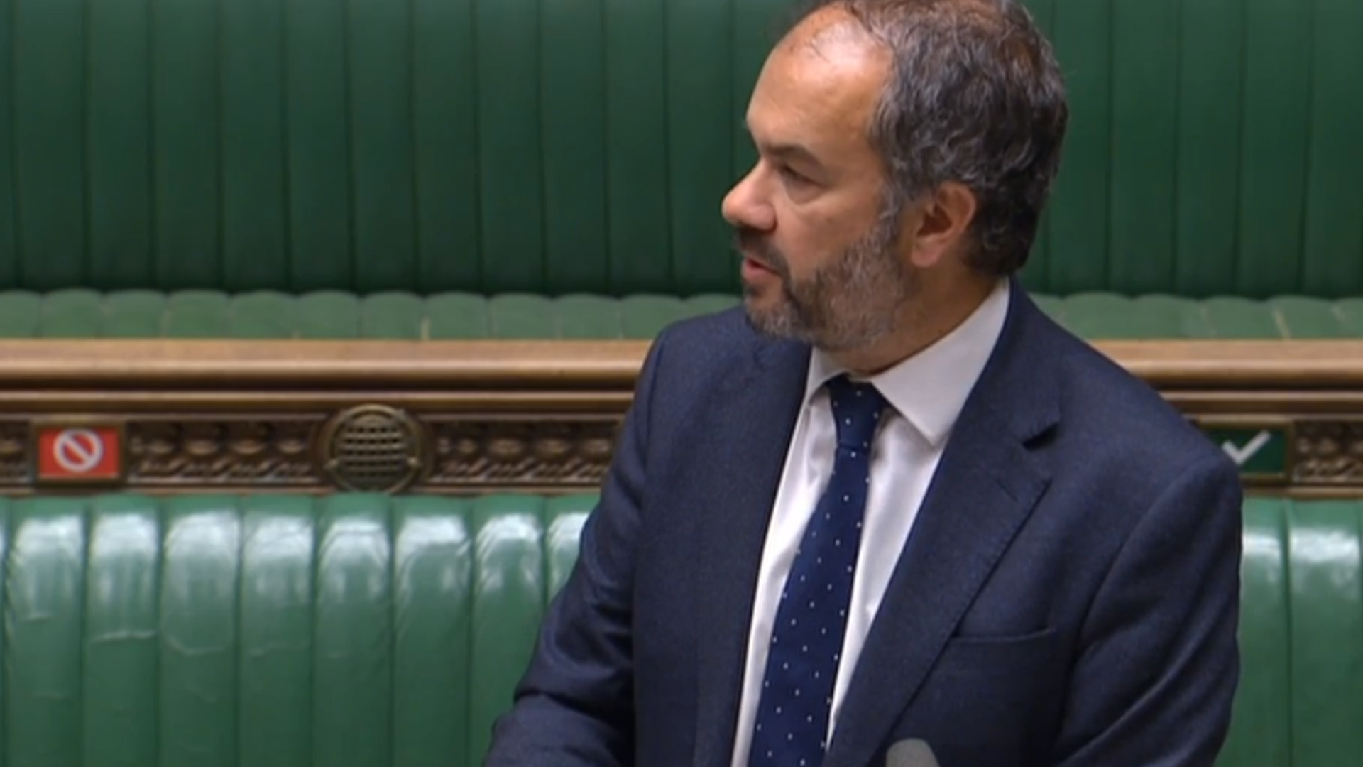Paul Scully in the House of Commons - Credit: Parliament Live