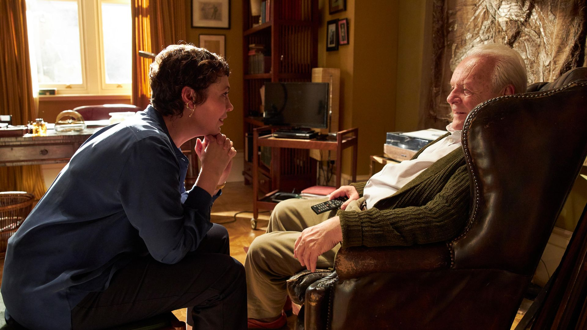 Olivia Colman and Anthony Hopkins in The Father - Credit: Lionsgate Entertainment/Sean Gleason