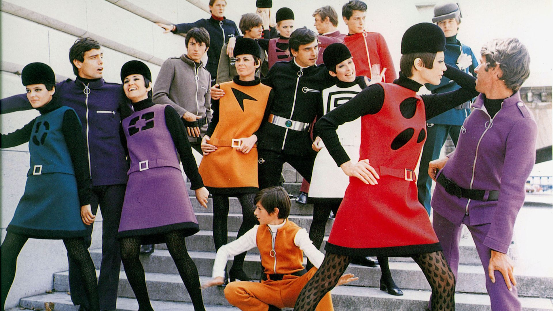 A still from House of Cardin, released via Blue Finch Film - Credit: Pierre Cardin Archive