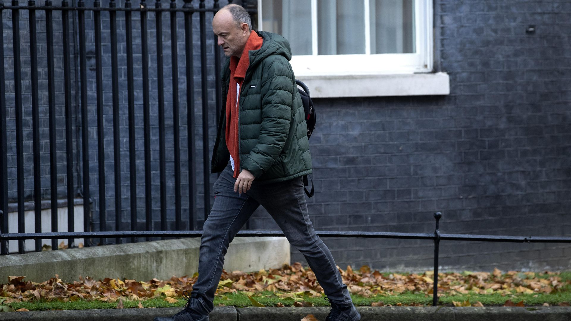 Former senior aide to the prime minister Dominic Cummings in Downing Street - Credit: PA