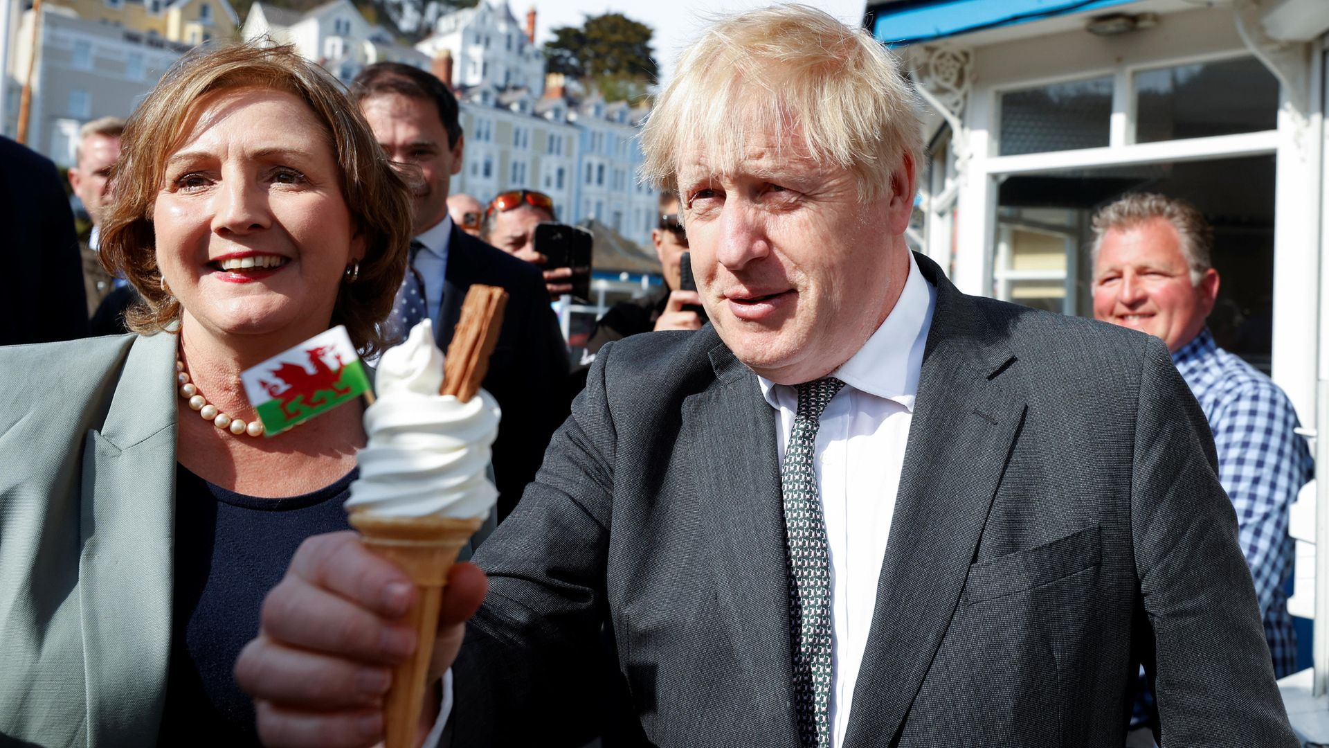 Six in 10 respondents said they regarded Boris Johnson as 'untrustworthy' - Credit: PA