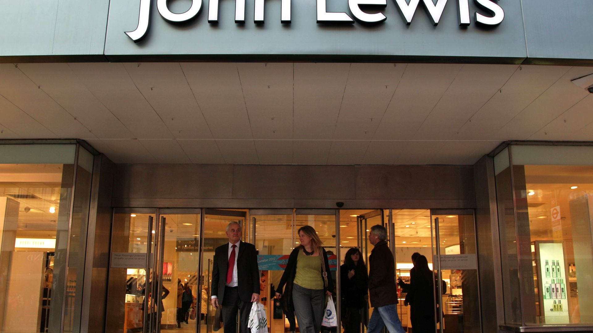A John Lewis store in London - Credit: PA