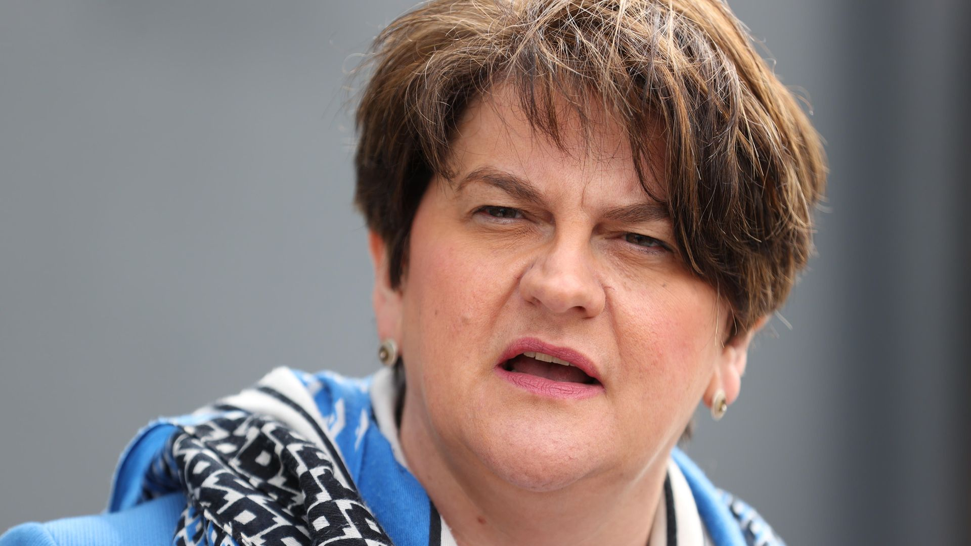Arlene Foster has stepped down as first minister of Northern Ireland - Credit: PA