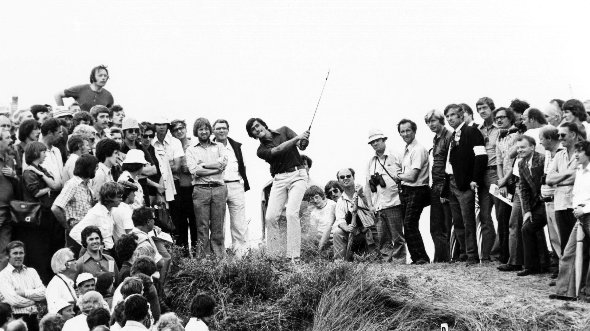 Seve Ballesteros at the 1976 Open Championship at Royal Birkdale Golf Club - Credit: Getty Images
