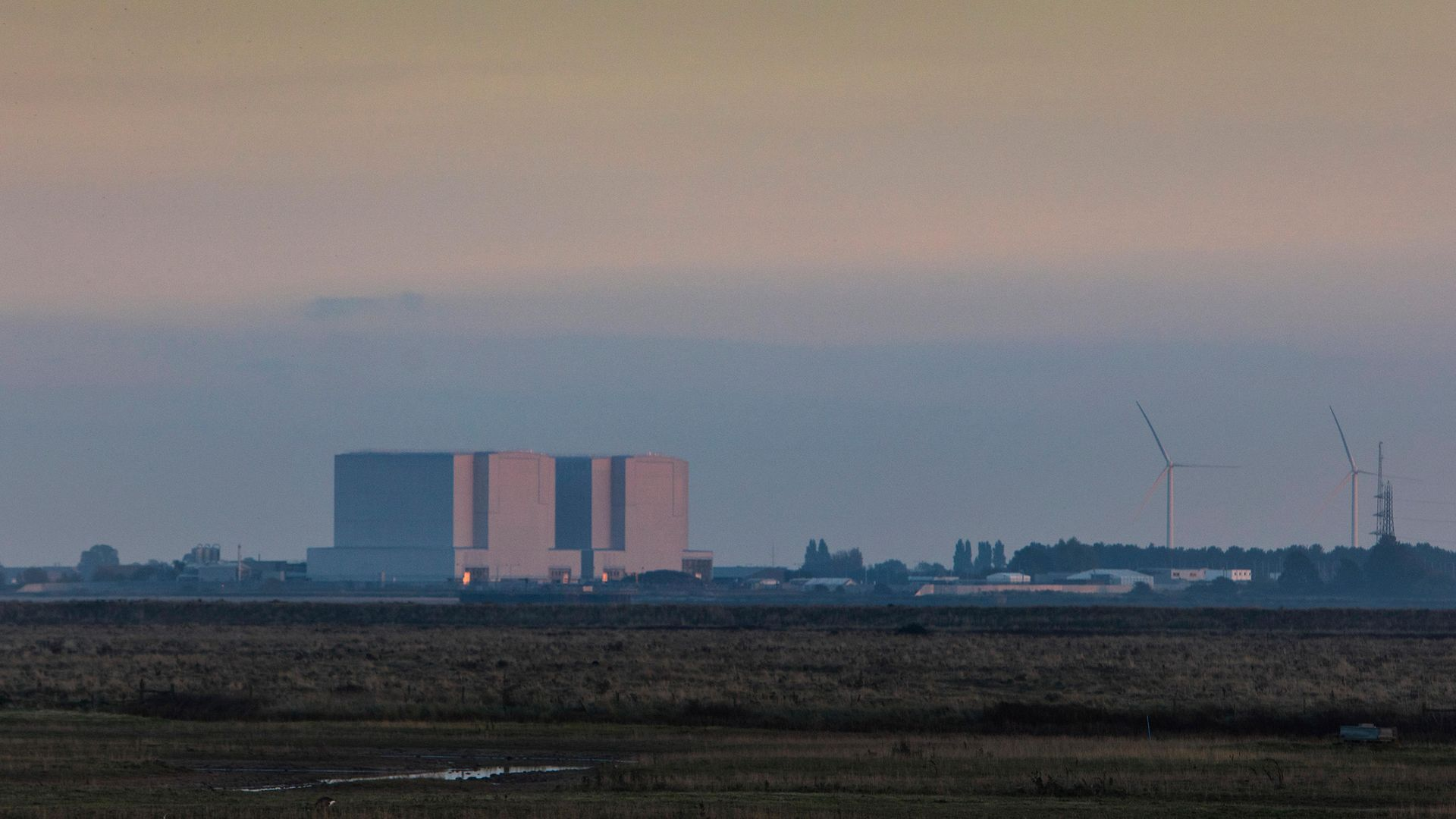 Bradwell nuclear power station located on the Dengie peninsula at the mouth of the River Blackwater, Essex - Credit: In Pictures via Getty Images