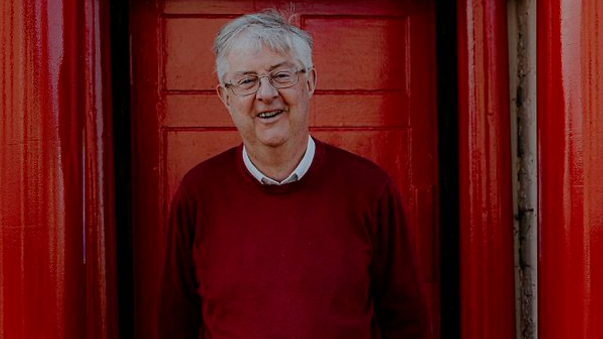 Mark Drakeford poses for a picture after the May elections in Wales - Credit: Twitter