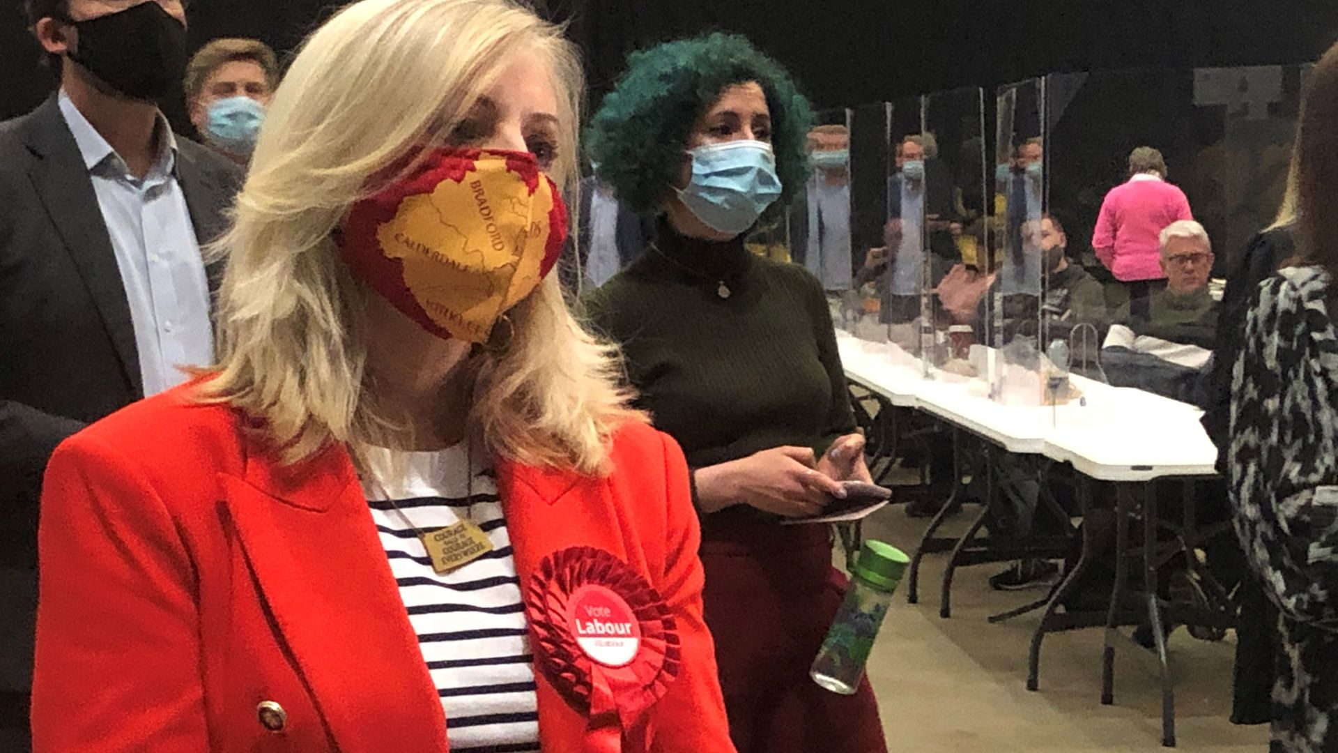Labour's Tracy Brabin during the count for the West Yorkshire Mayoral election in Leeds - Credit: PA