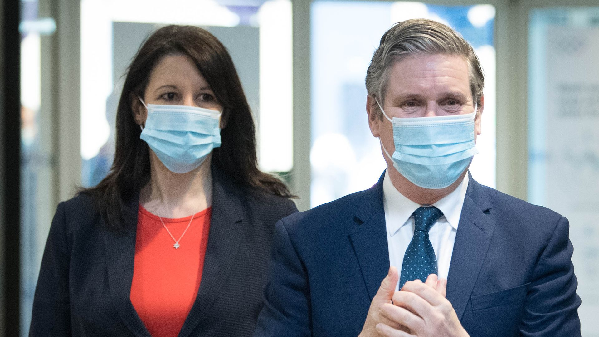 Labour party leader Sir Keir Starmer and Rachel Reeves - Credit: PA