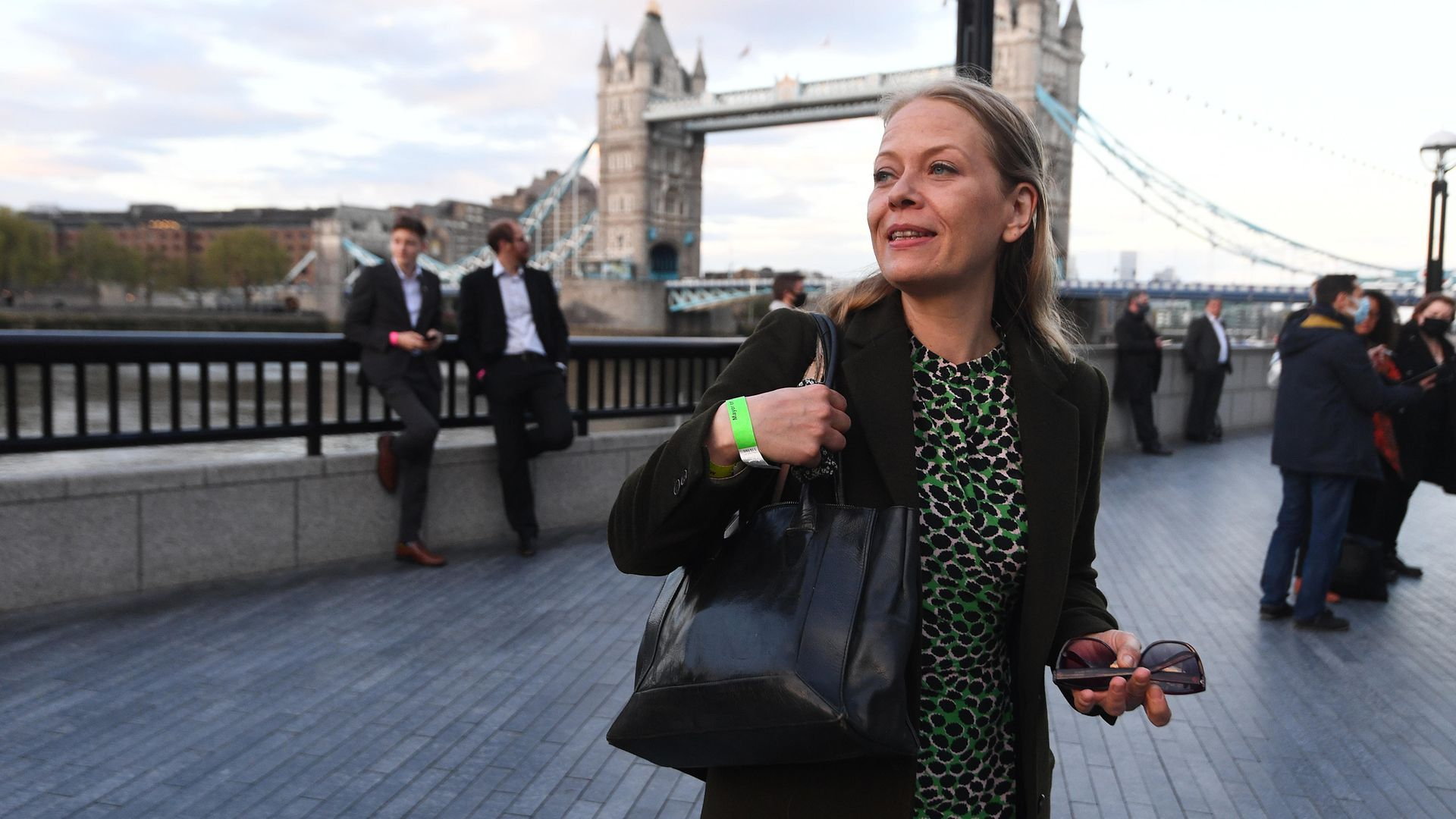 Green Party's Sian Berry arriving at City Hall, London, for the declaration for the next Mayor of London - Credit: PA