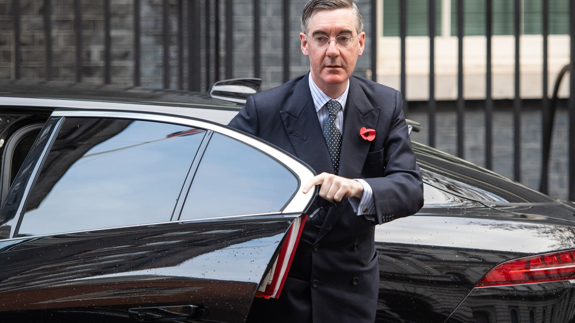 Leader of the House of Commons Jacob Rees Mogg in Downing Street, London, ahead of a Cabinet meeting at the Foreign and Commonwealth Office (FCO). - Credit: PA