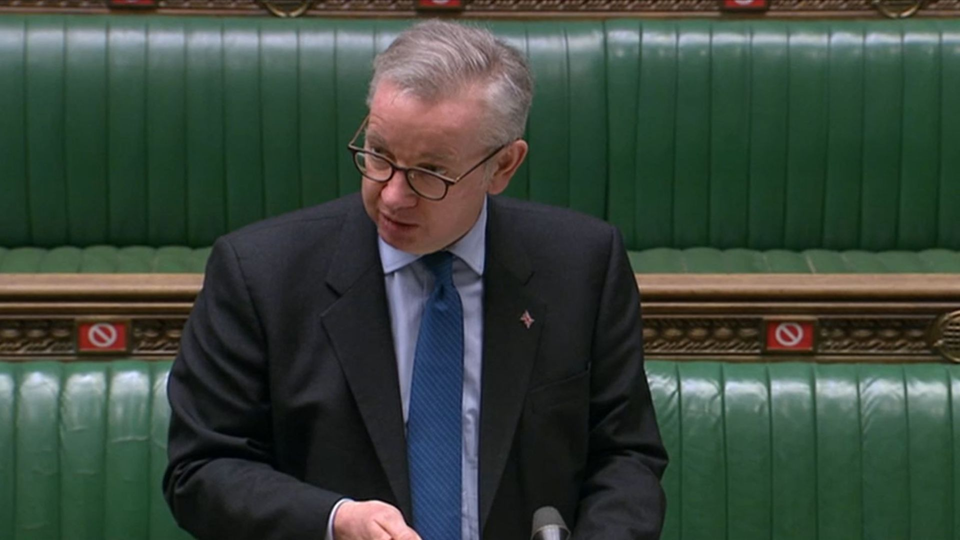Cabinet minister Michael Gove has refused to rule out taking the Scottish government to court over plans for a second Scottish independence referendum - Credit: PA