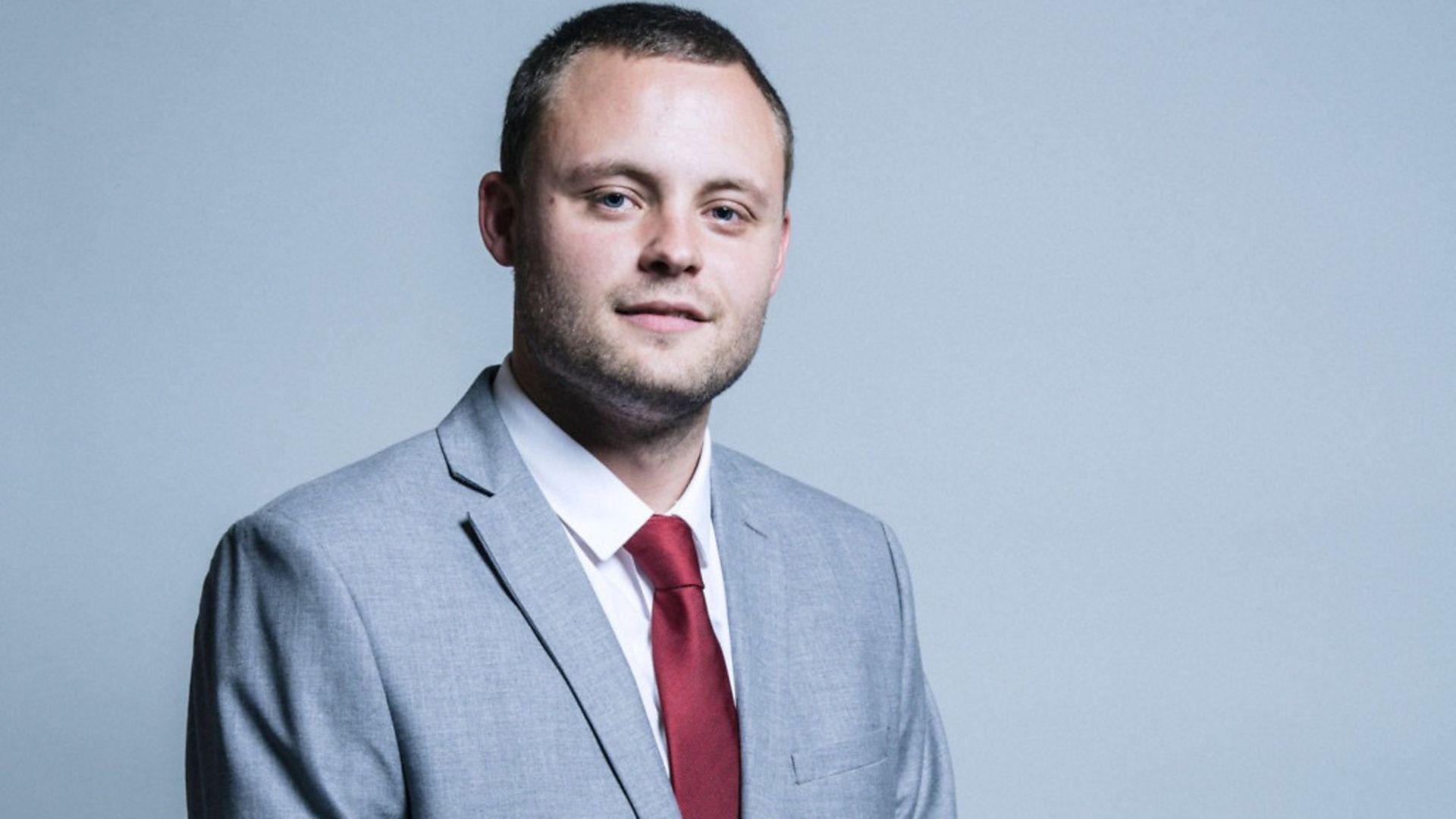 Nottinghamshire MP Ben Bradley - Credit: House of Commons