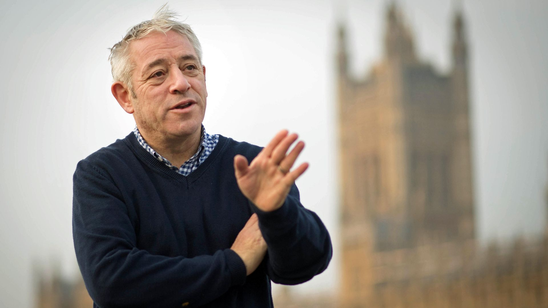 John Bercow said he could list ' a number of examples' of Boris Johnson being untruthful to parliament - Credit: PA