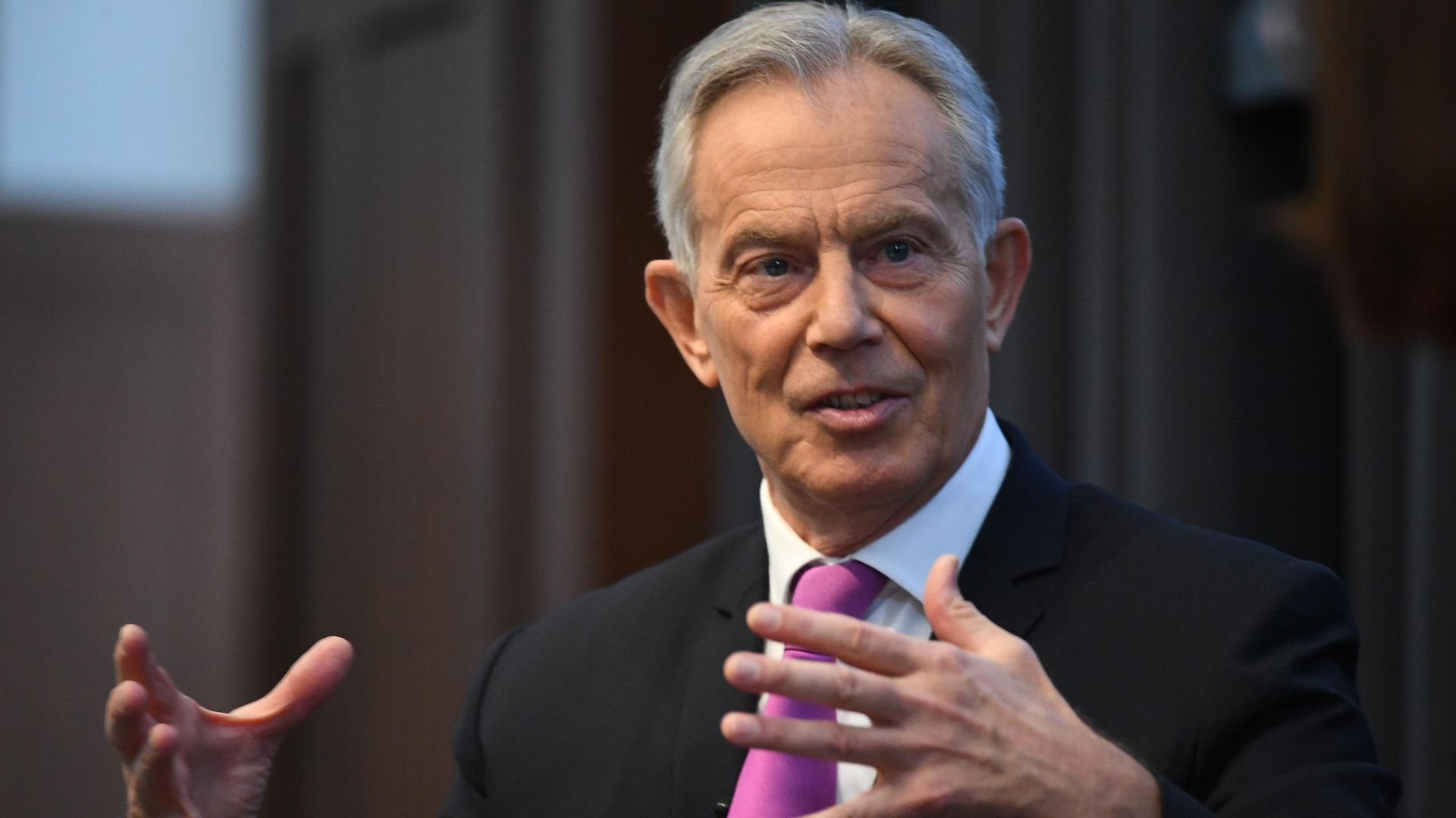 Former Labour prime minister Tony Blair launched a stinging attack on his party - Credit: PA