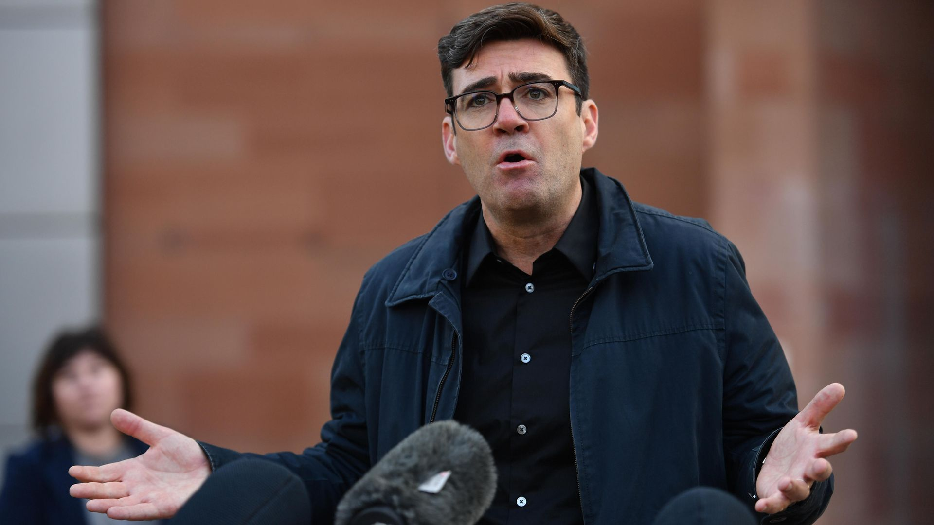 Greater Manchester mayor Andy Burnham. Burnham said Brexit was 'a new reality that needs to be embraced' - Credit: PA