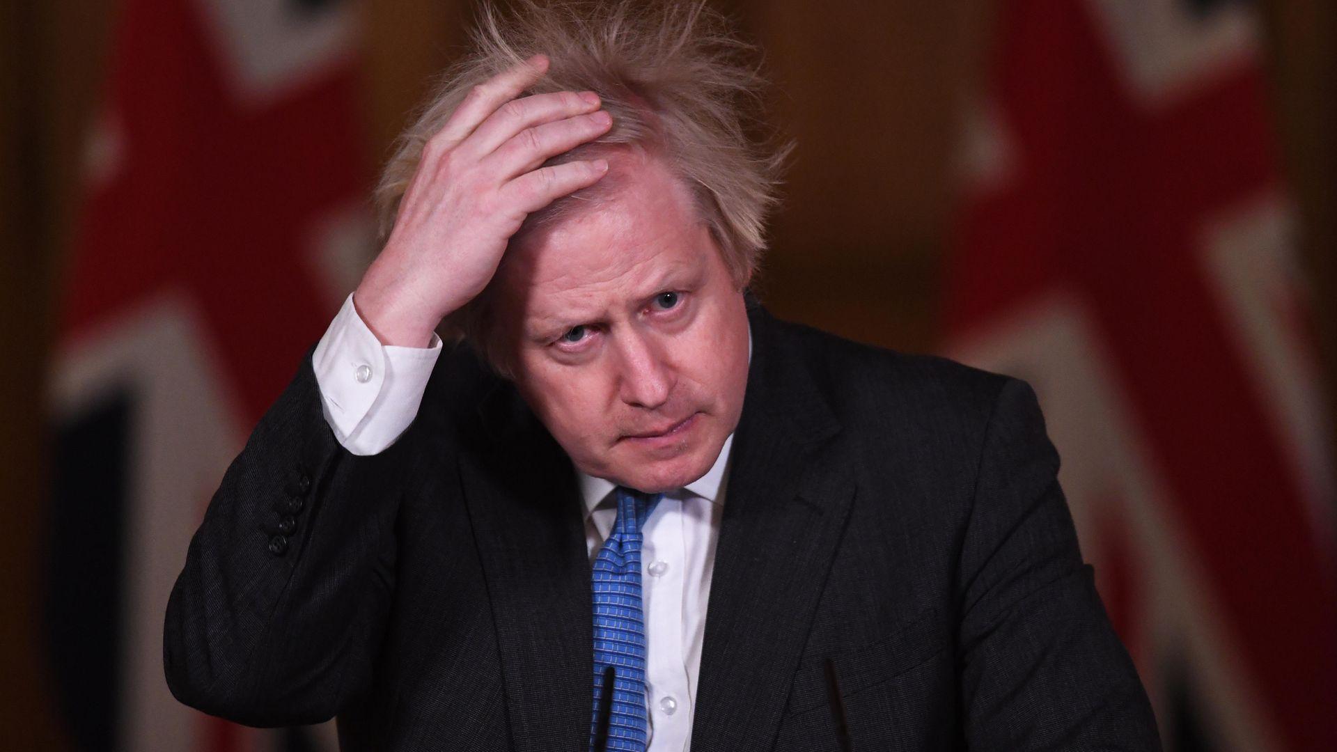 Prime minister Boris Johnson - Credit: PA
