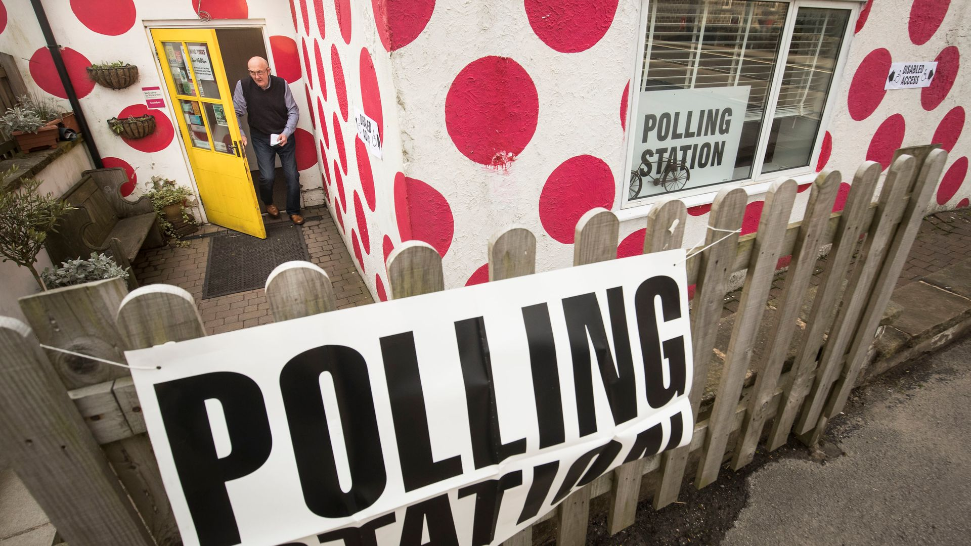 A polling station - Credit: PA