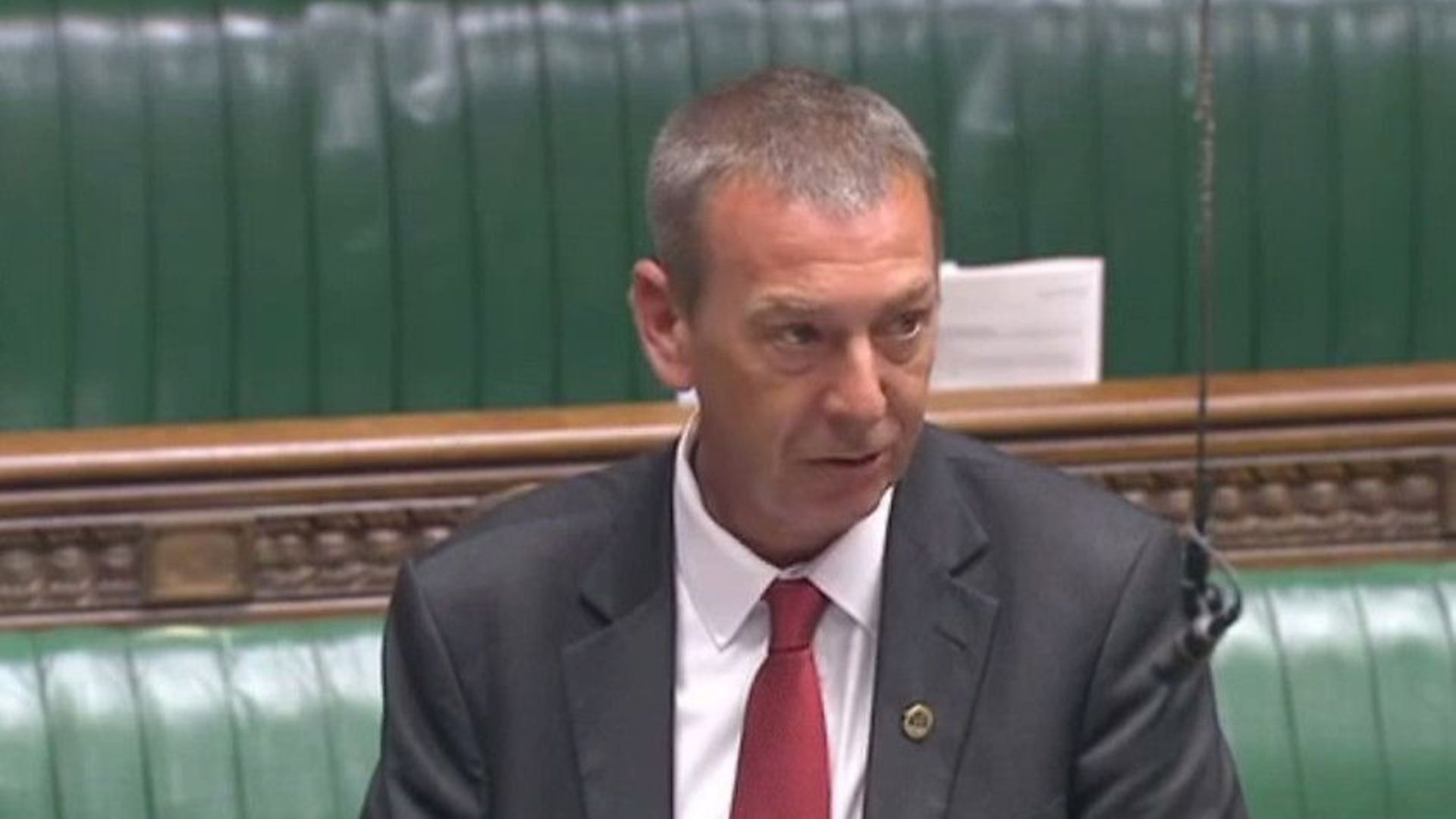Labour MP Mike Hill has resigned - Credit: Parliament Live