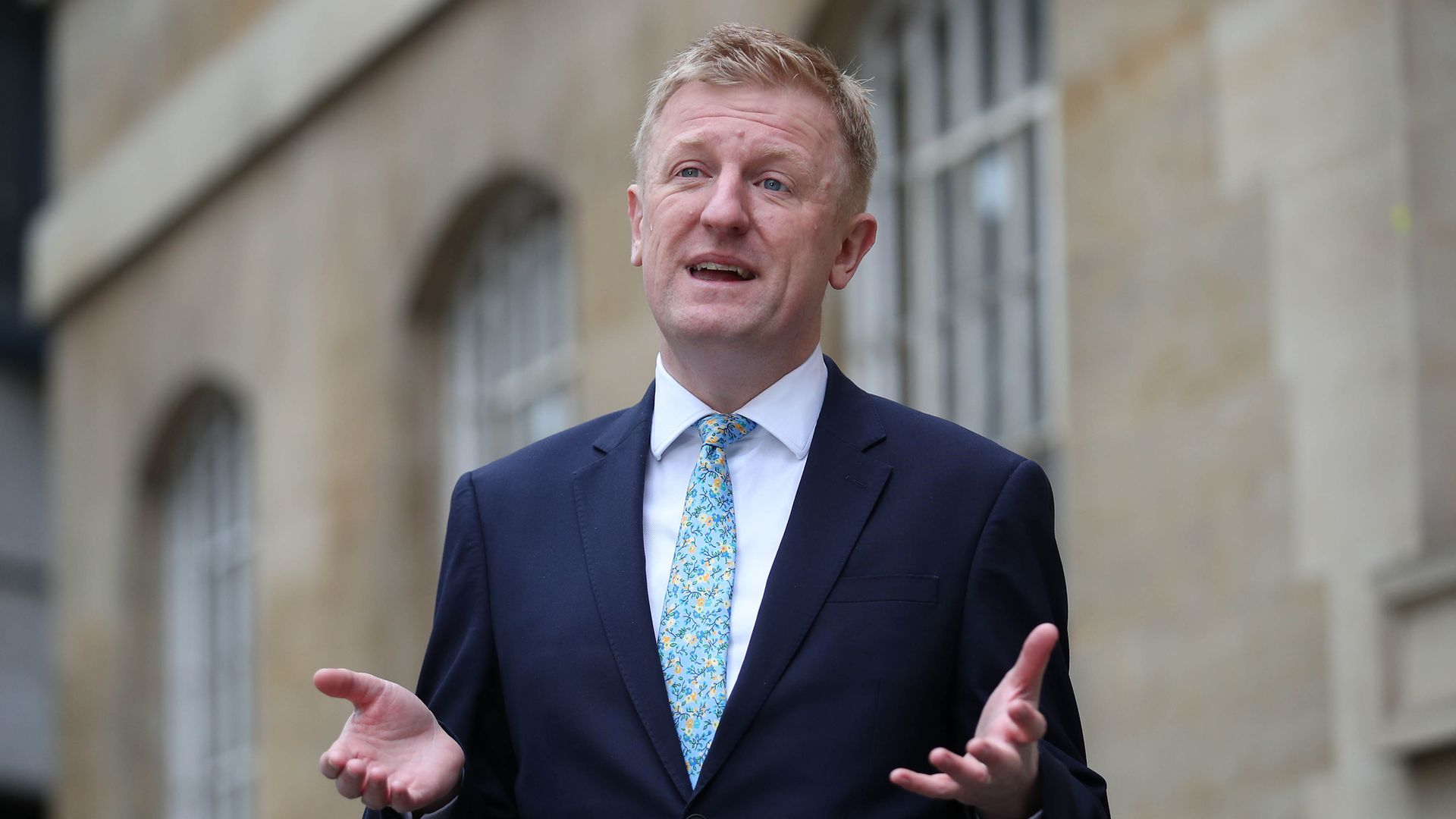 Culture secretary Oliver Dowden angered organisations representing creative artists when he said it was up to them to use their lobbying power to solve the visa crisis, rather than it being the government's responsibility - Credit: PA