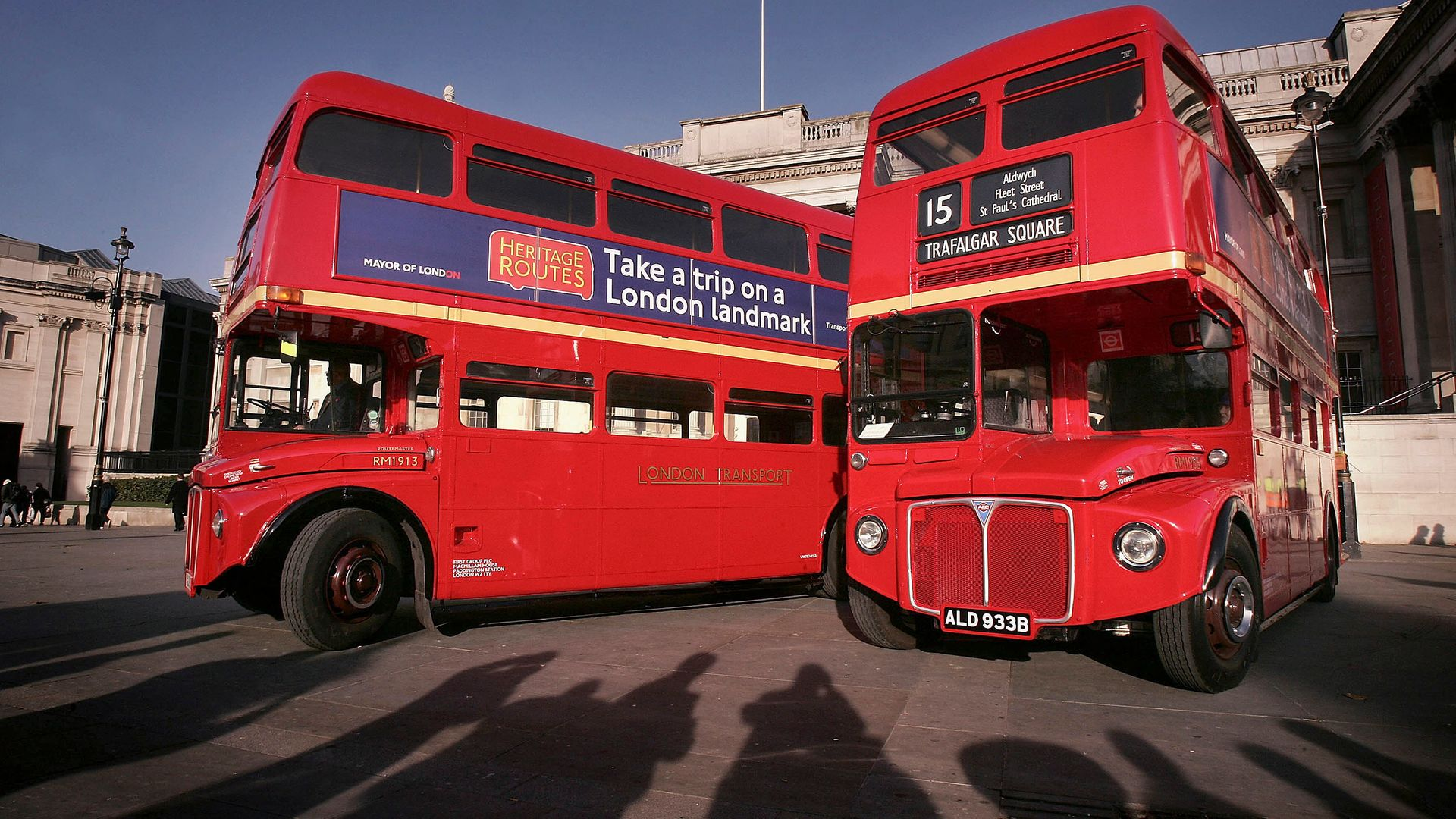 The vintage, refurbished Routemaster buses that are now being withdrawn - Credit: Photo by Peter Macdiarmid/Getty Images