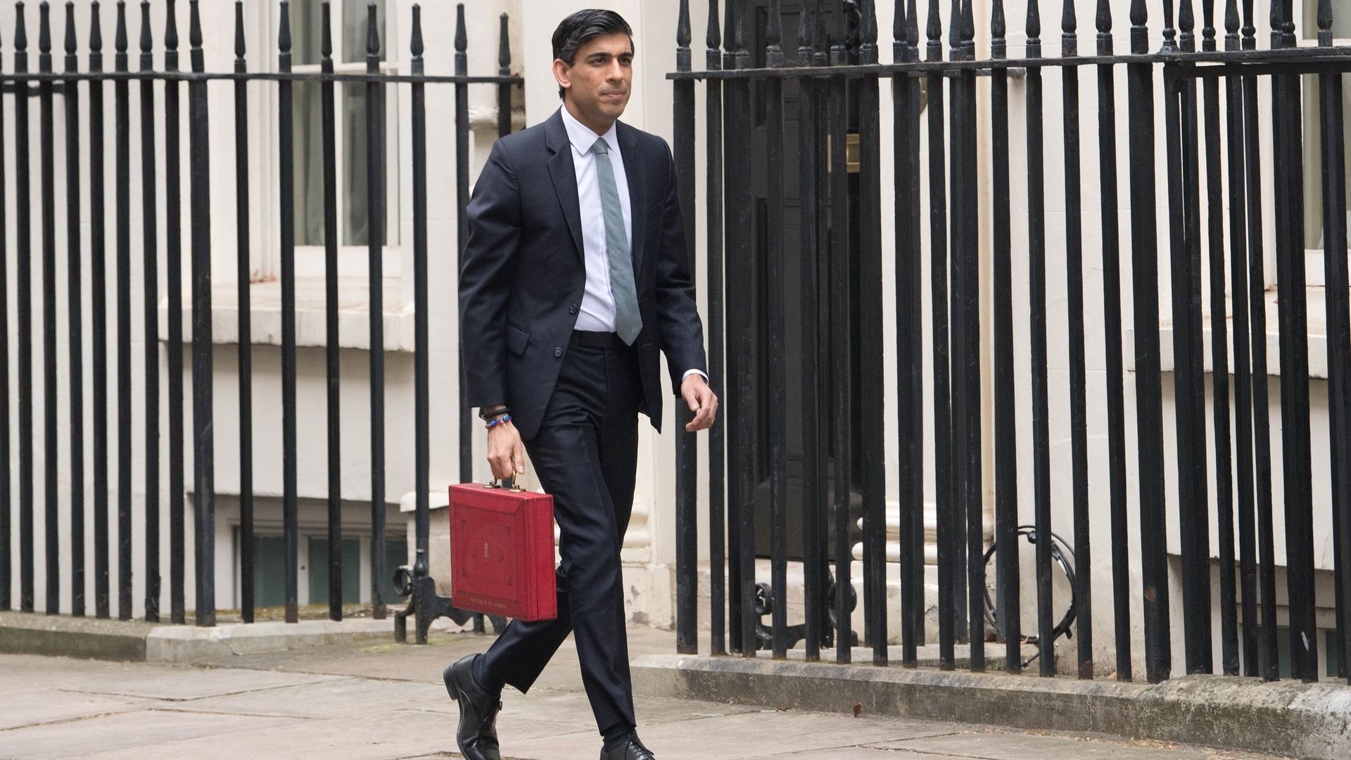 Chancellor of the Exchequer, Rishi Sunak outside 11 Downing Street, London - Credit: PA