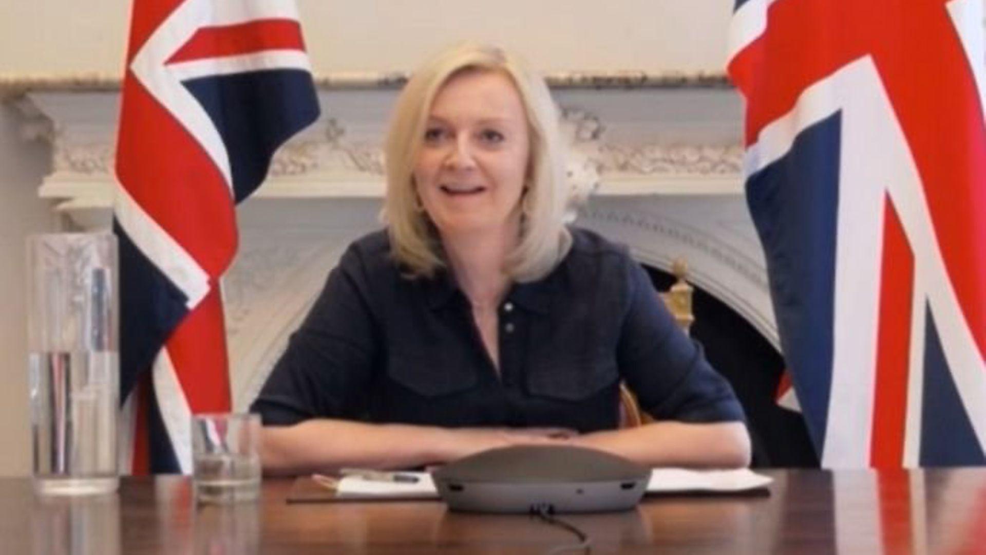 International trade secretary Liz Truss - Credit: Parliament TV