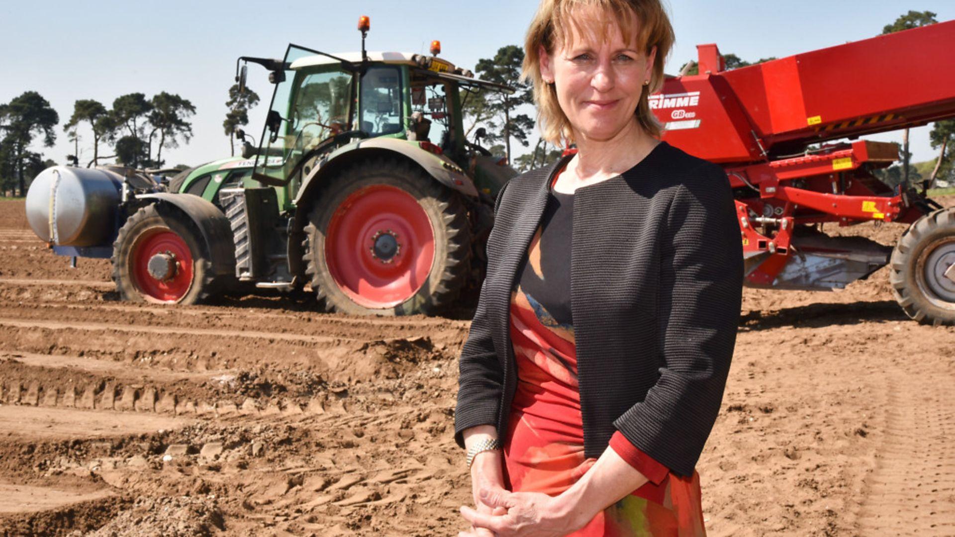 National Farmers Union president Minette Batters - Credit: Sonya Duncan