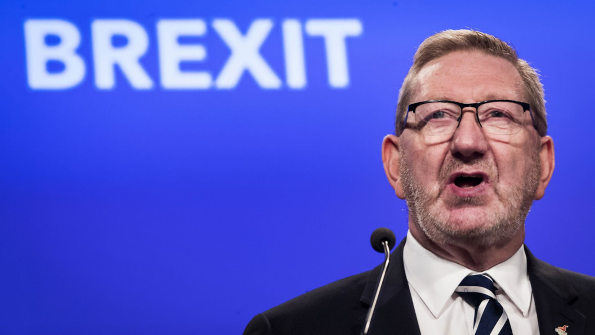 Unite General Secretary Len McCluskey believed a second referendum should not include an option to remain in the EU - Credit: PA Wire/PA Images