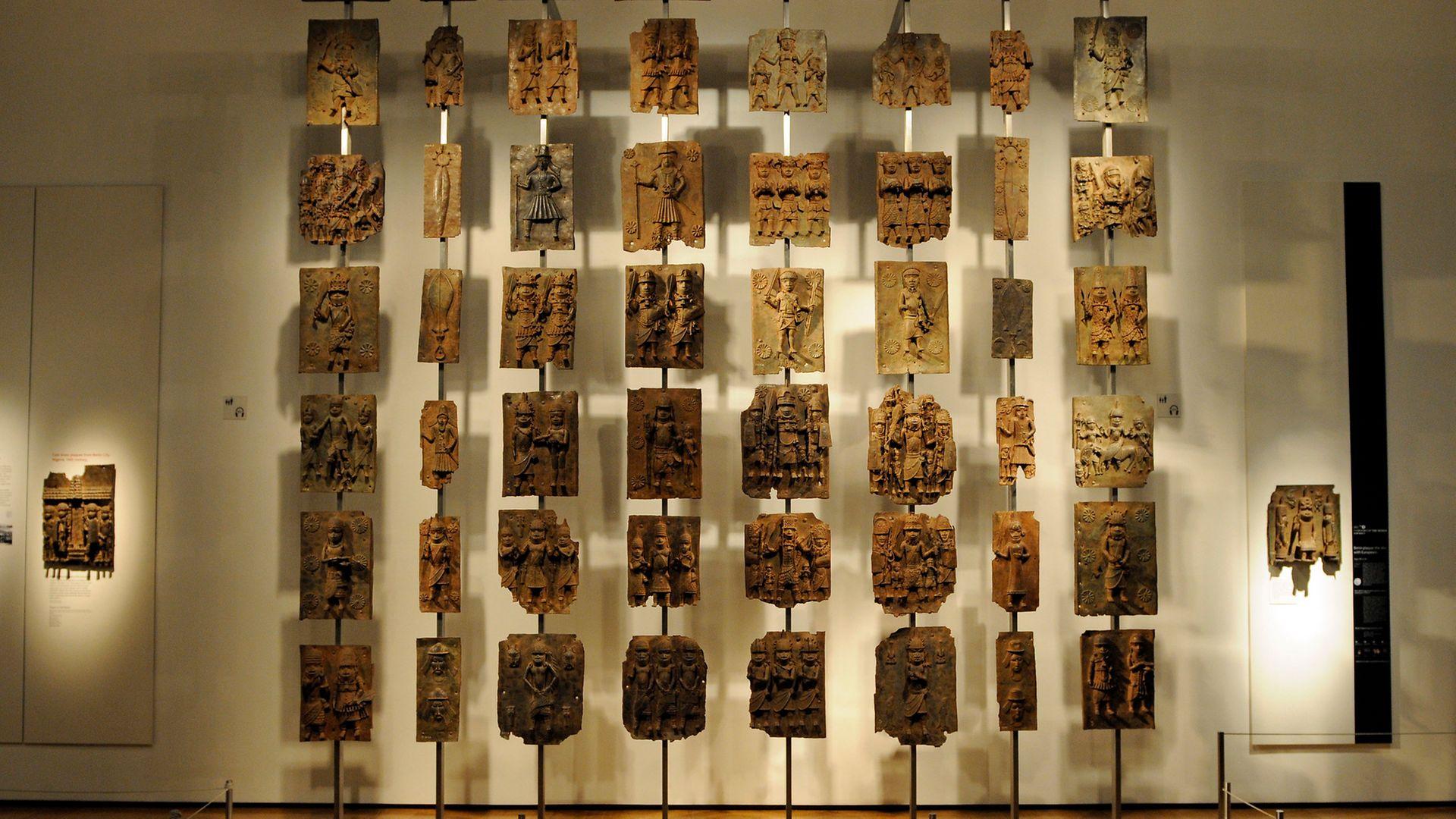 Benin Bronzes in the British Museum - Credit: Son of Groucho/Flickr