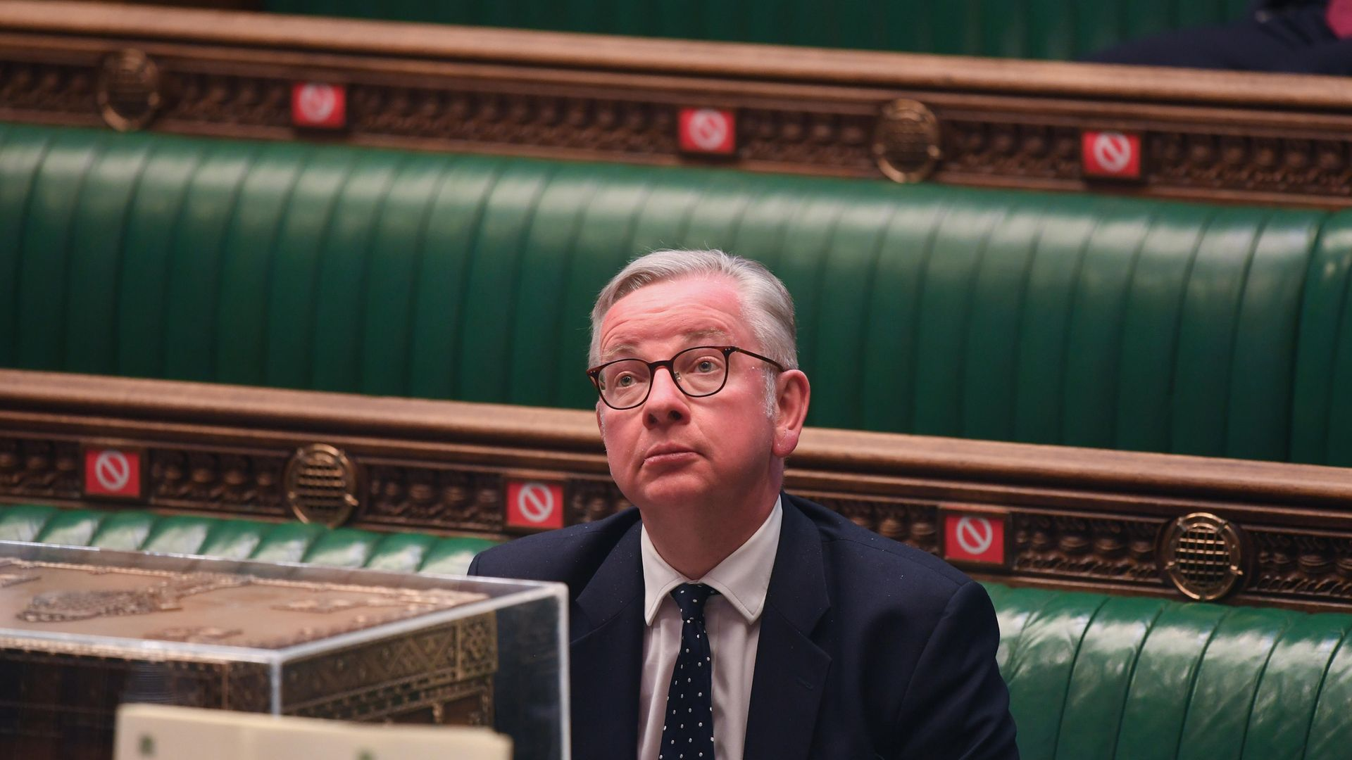 Cabinet Office Minister Michael Gove in the House of Commons - Credit: PA