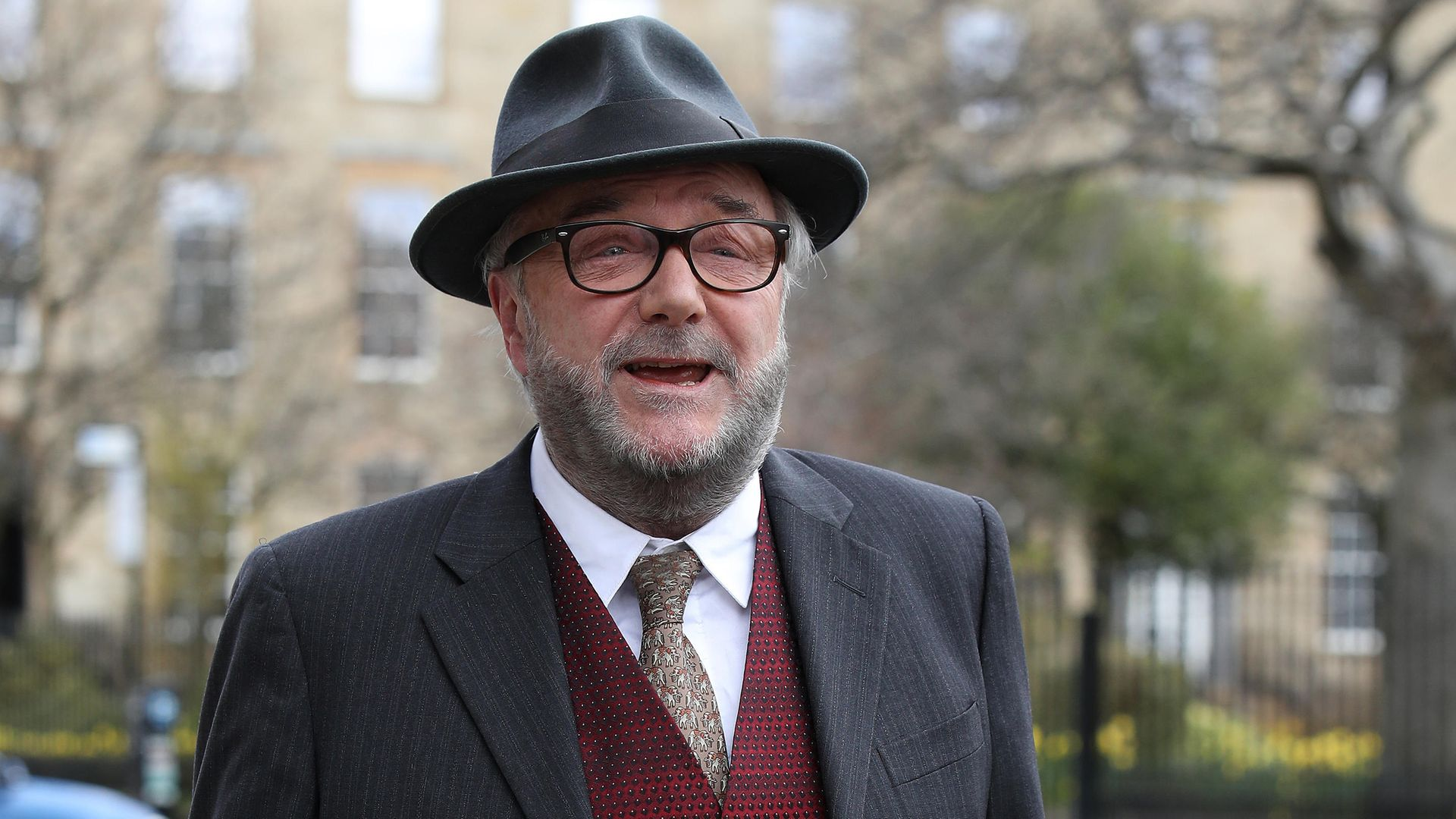 Former MP George Galloway has announced he is running in the forthcoming Batley and Spen by-election - Credit: PA