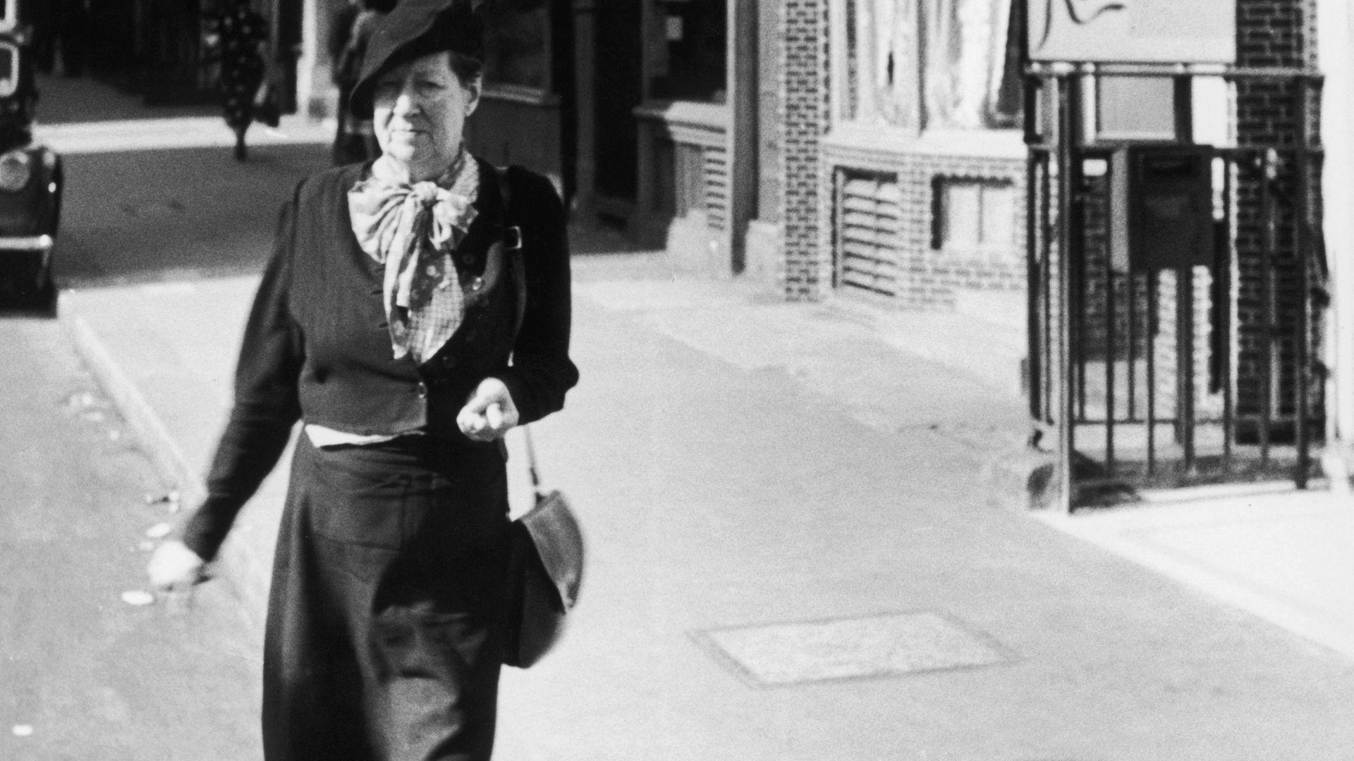 Nina Hamnett, pictured in c1945 - Credit: Getty Images