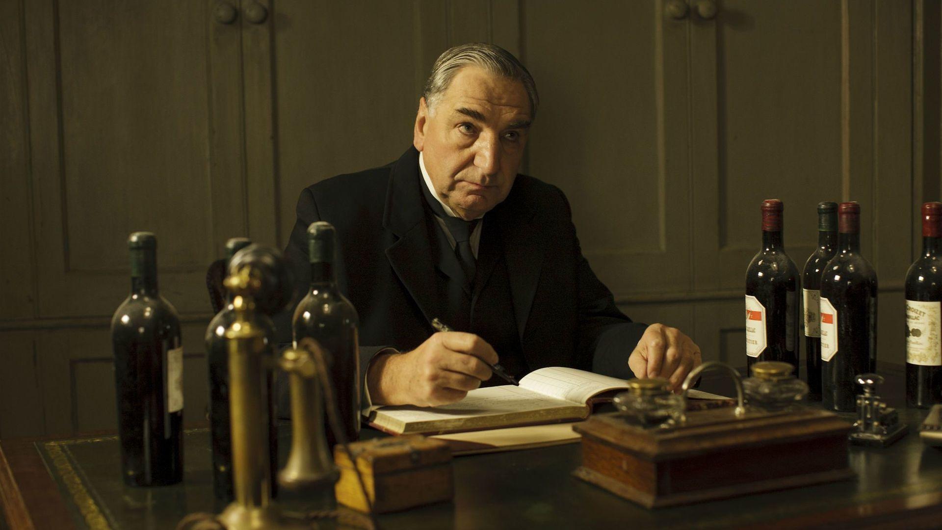 Downton Abbey butler Carson - Credit: ITV