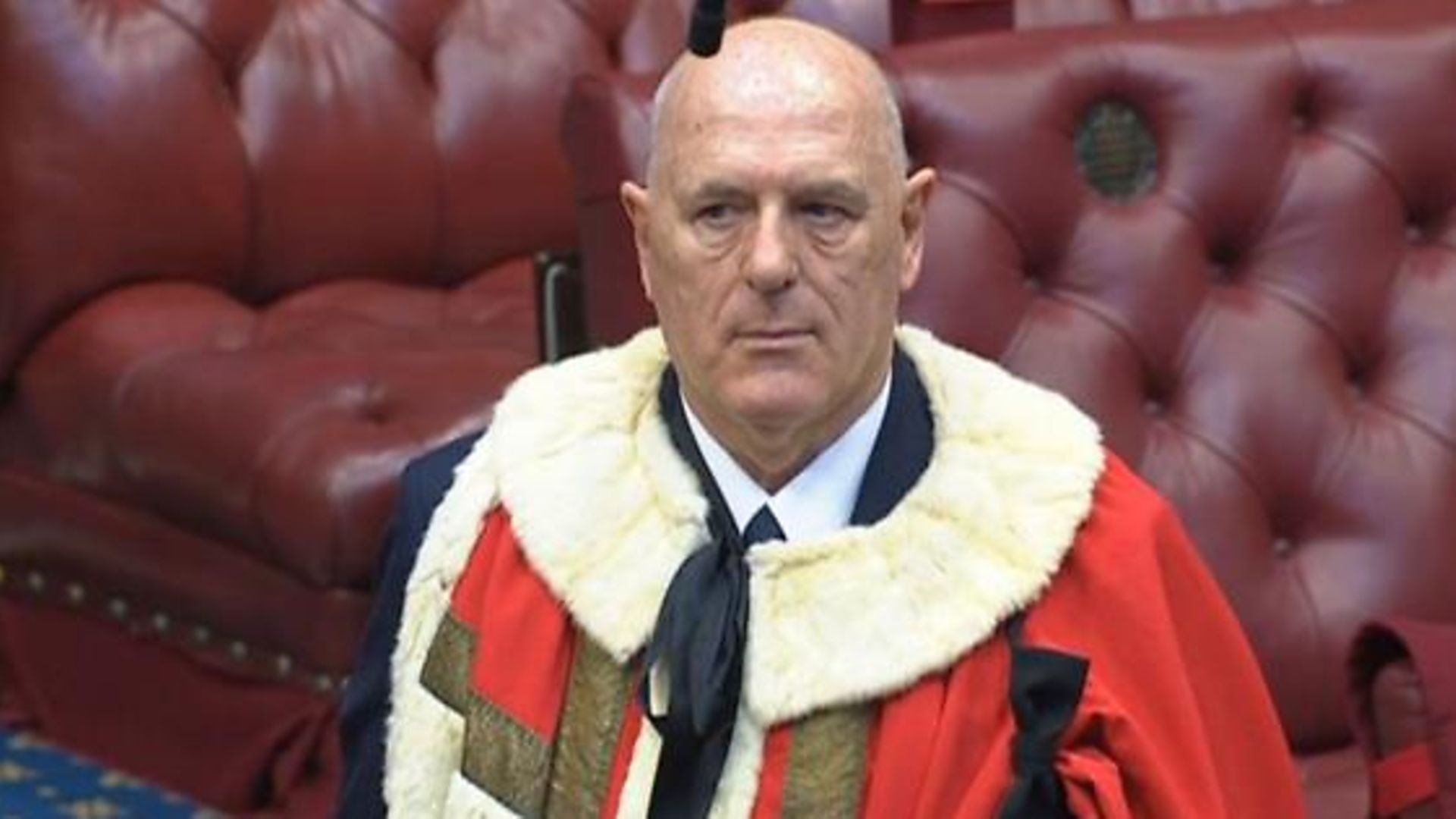 Peter Cruddas in the House of Lords - Credit: Parliament Live