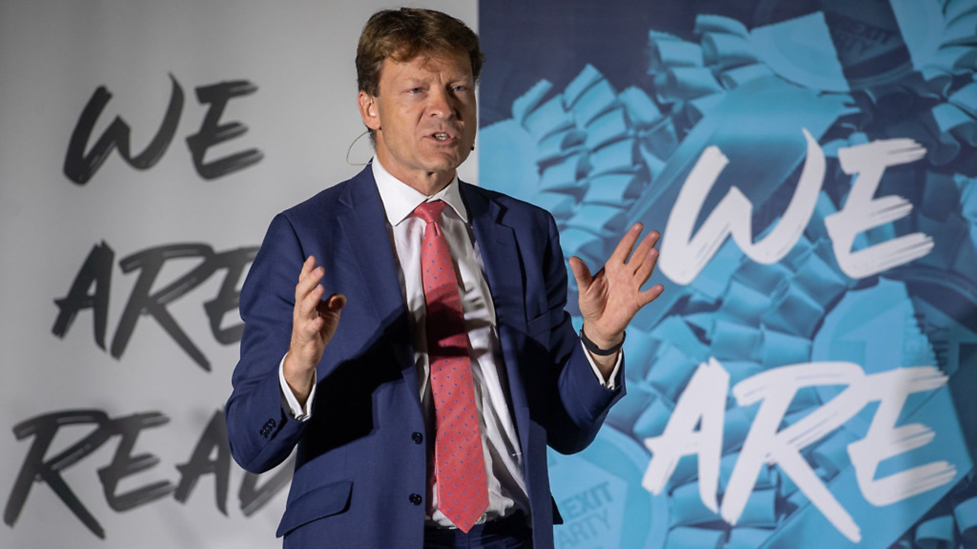 Richard Tice, former chairman of the Brexit Party, is now the new leader of Reform UK - Credit: PA Wire/PA Images