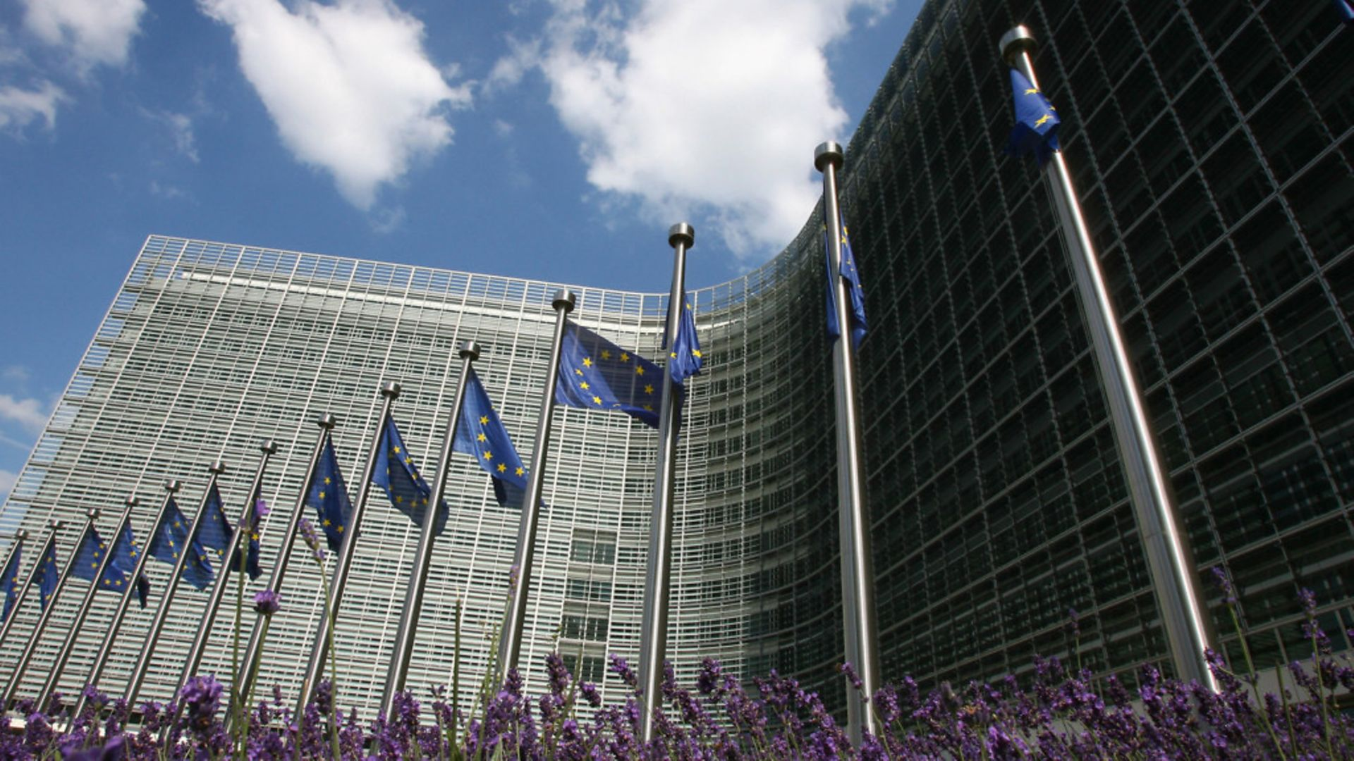 A picture of the outside of the European Commission in Brussels - Credit: AFP/Getty Images
