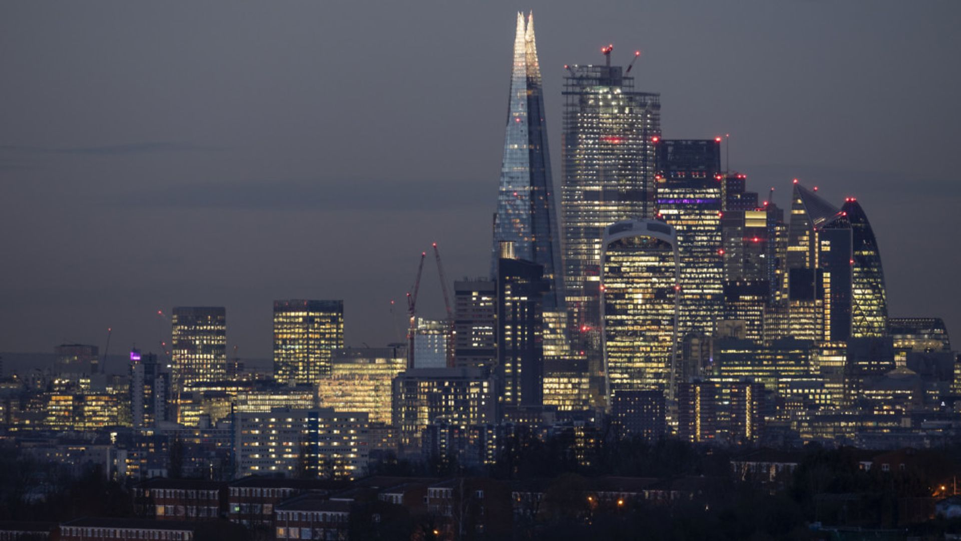 The City of London was hung out to dry during Brexit negotiations and the rest of Europe is now seeking to take advantage - Credit: Getty Images