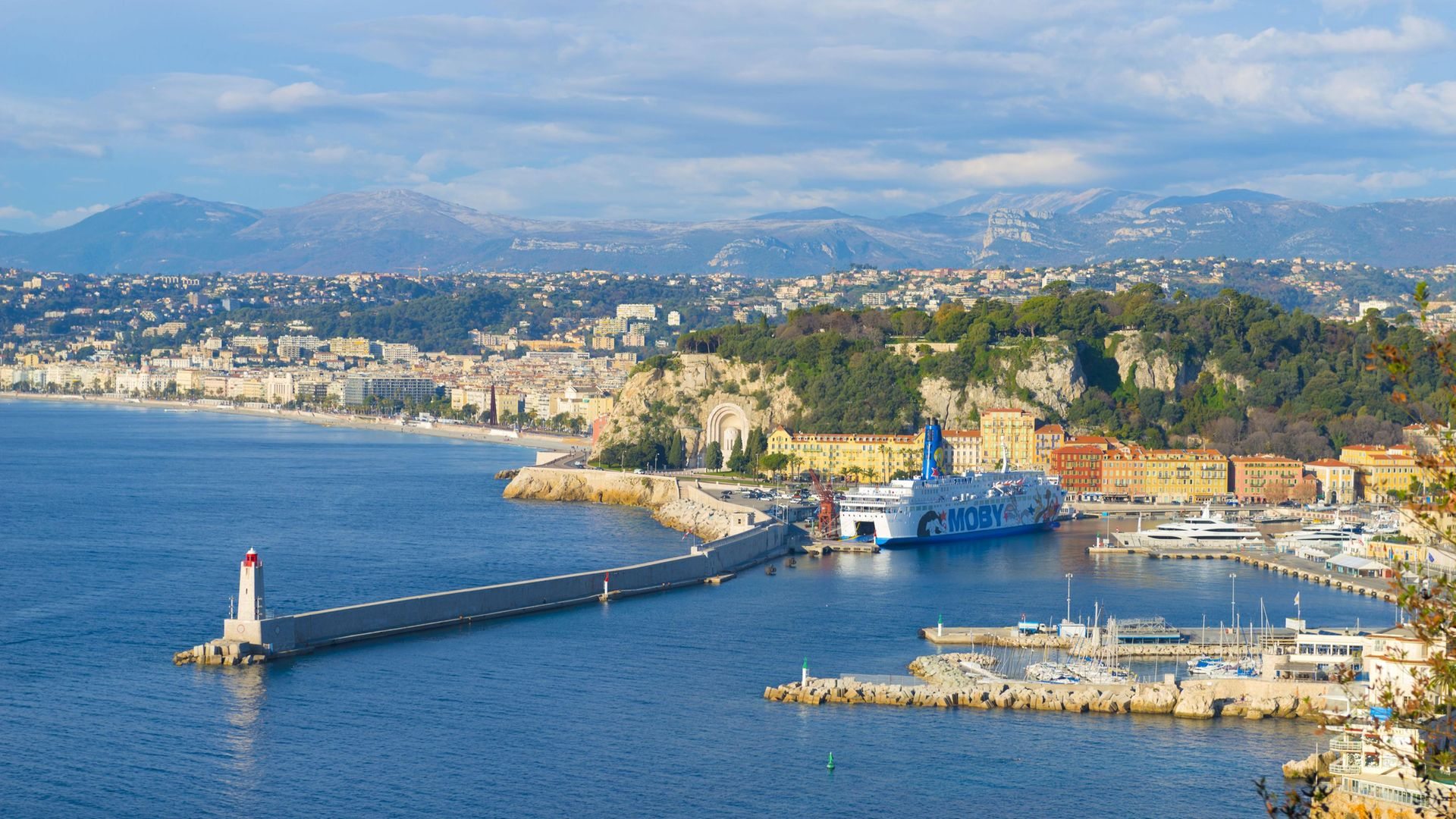 NICE VIEW: the French Riviera city of Nice. The word 'nice' has undergone significant changes over the years - Credit: Universal Images Group via Getty