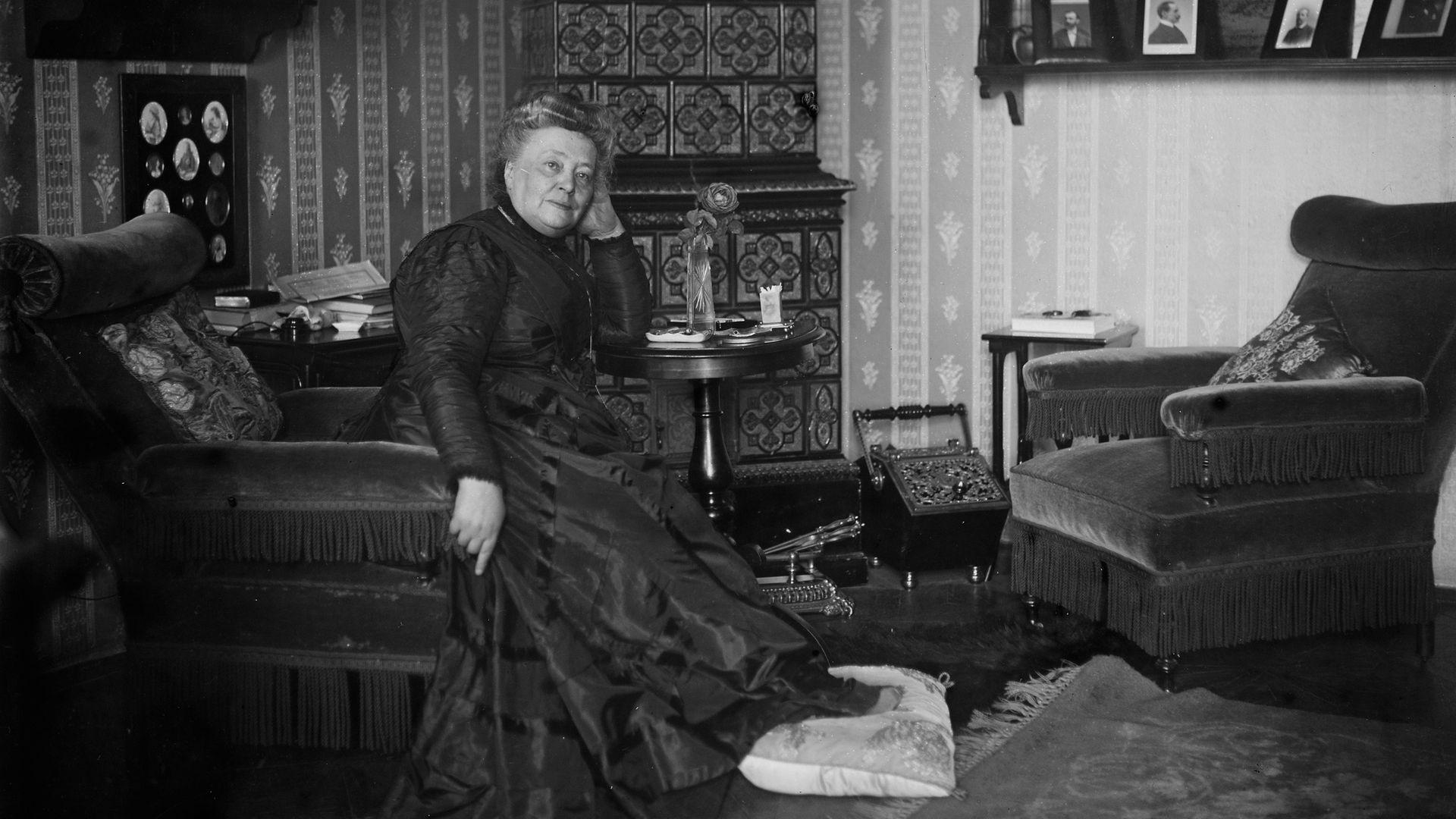 Bertha von Suttner, in 1911 - Credit: Getty Images