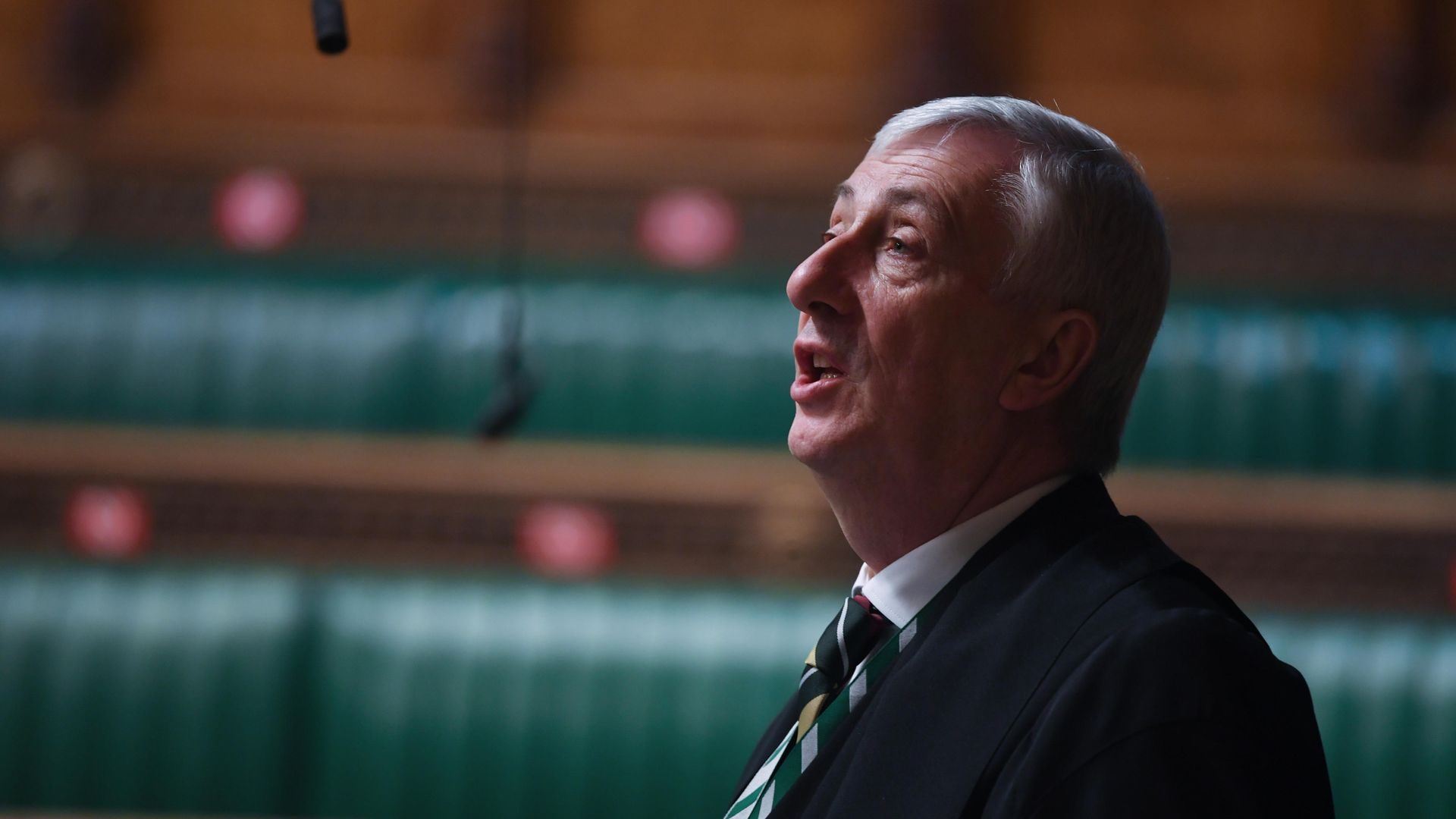 Sir Lindsay Hoyle in the House of Commons - Credit: Jessica Taylor