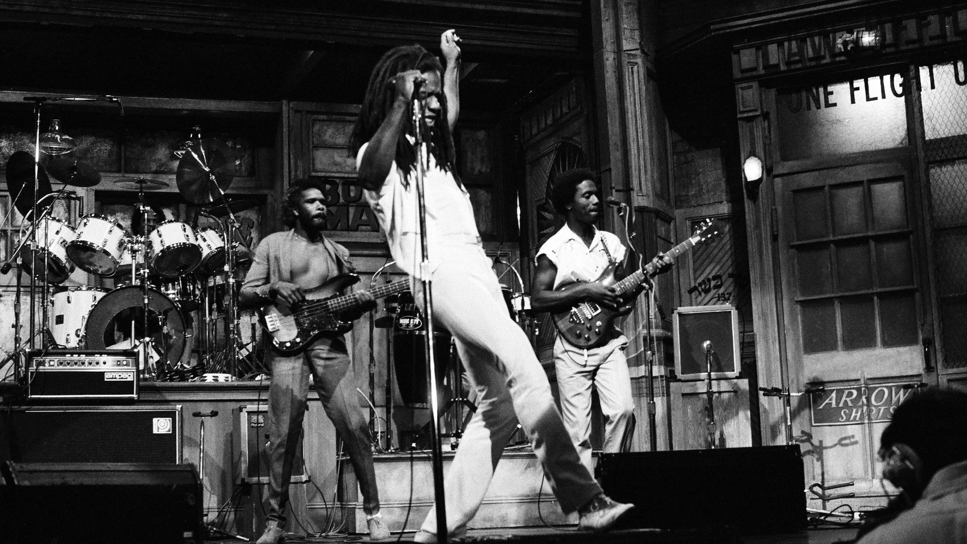Eddy Grant performs on Saturday Night Live, in 1983 - Credit: NBCU Photo Bank/NBCUniversal